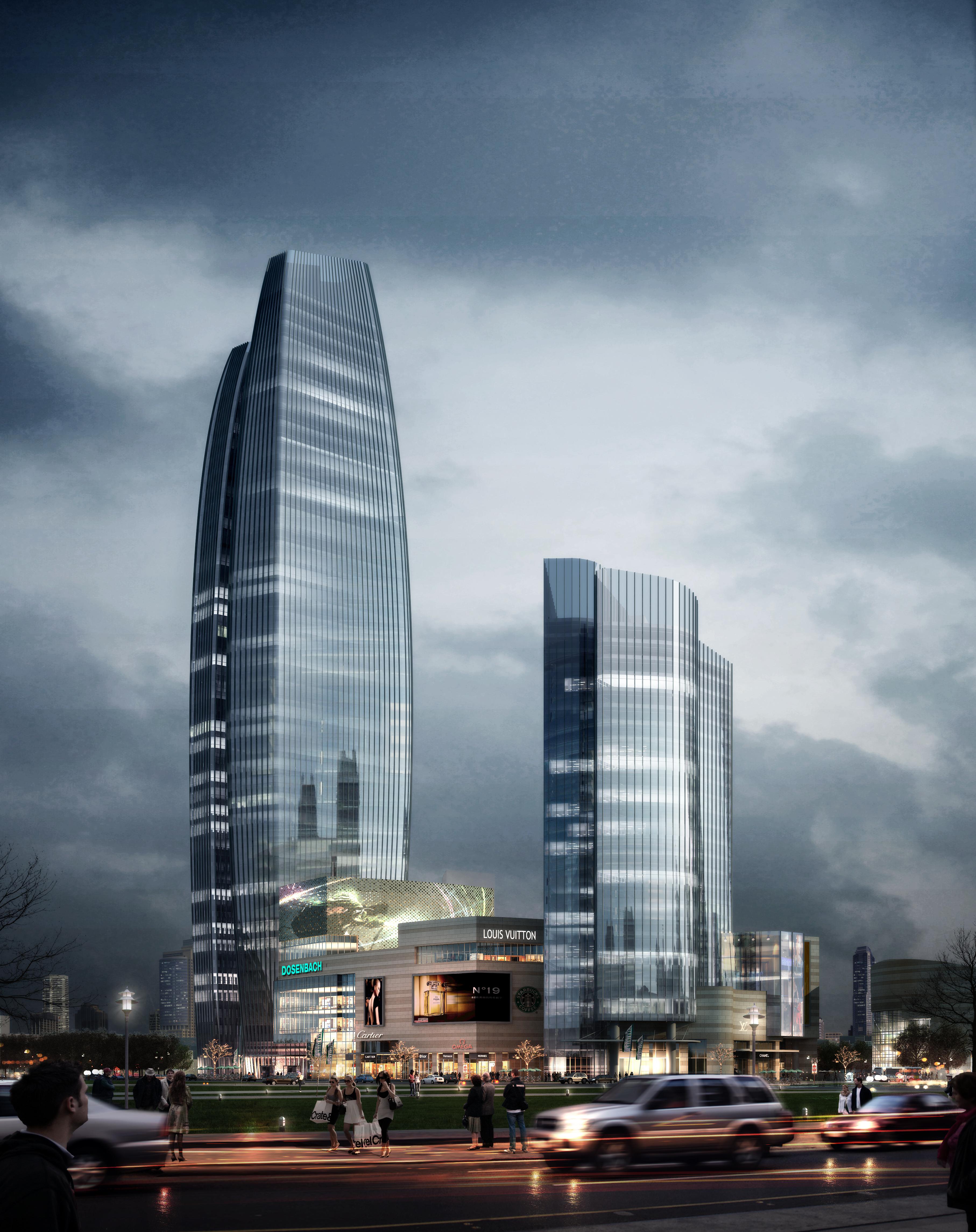 skyscraper business center 027 3d model max 206021