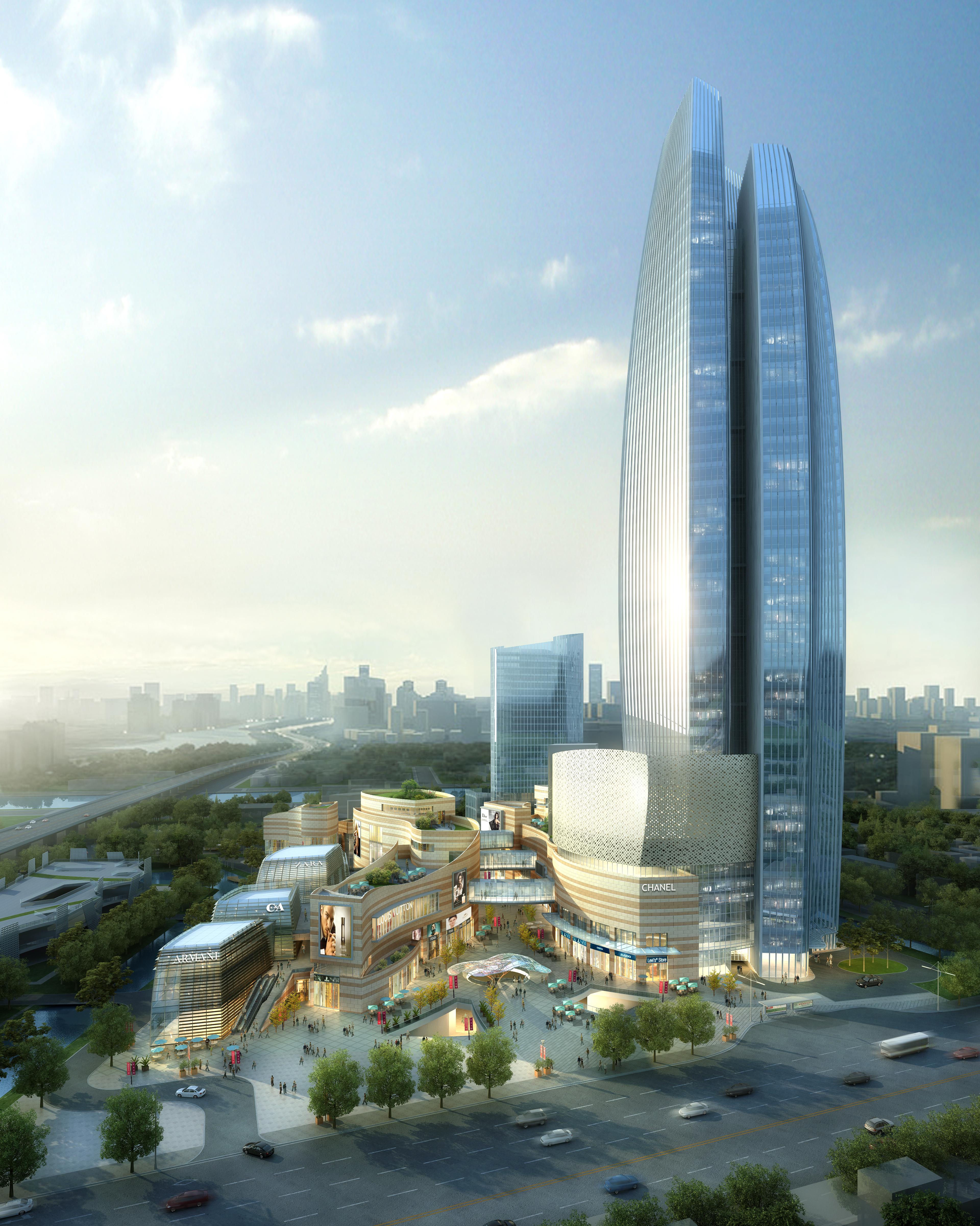 skyscraper business center 027 3d model max 206024
