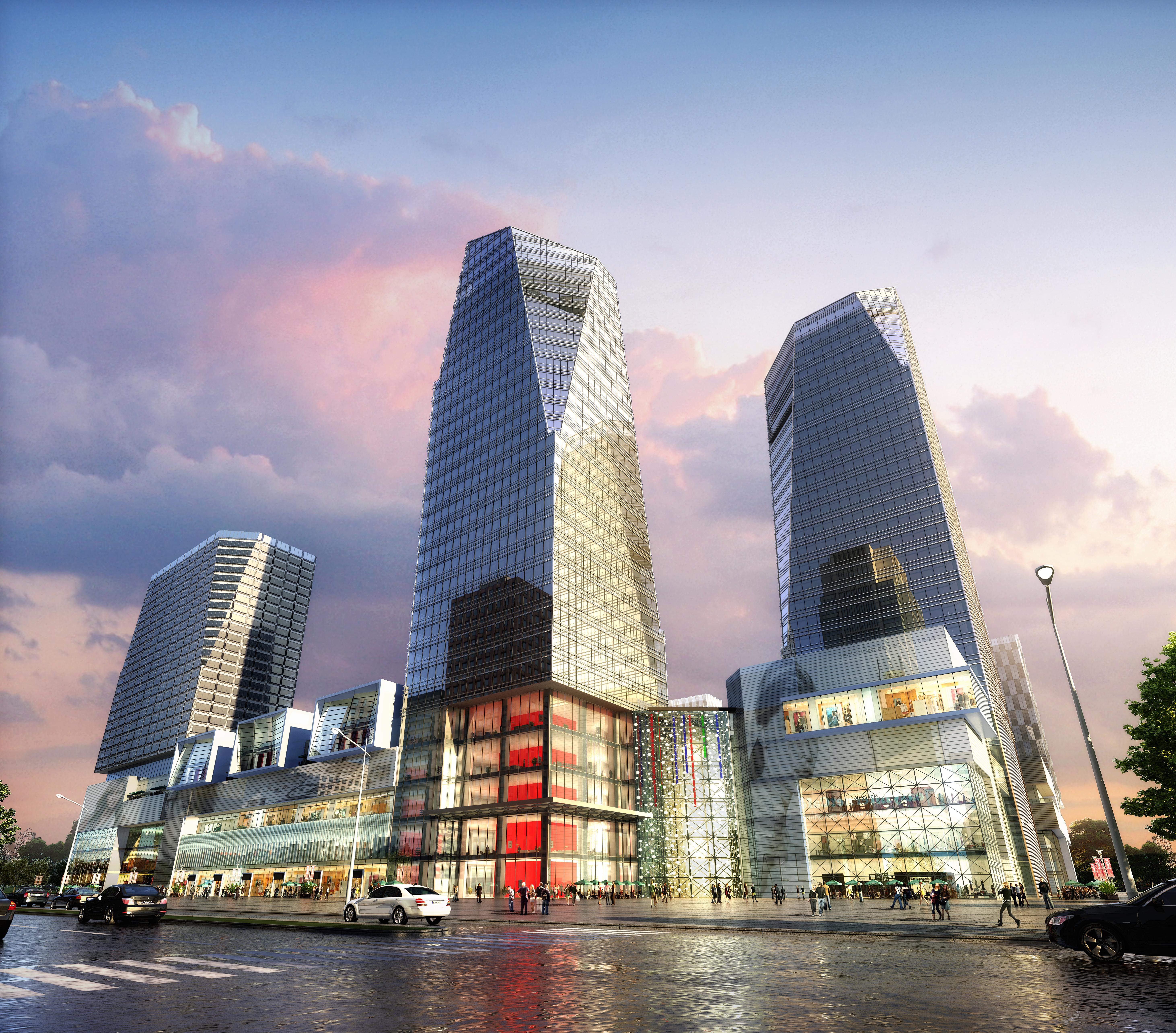 skyscraper business center 029 3d model max 206034