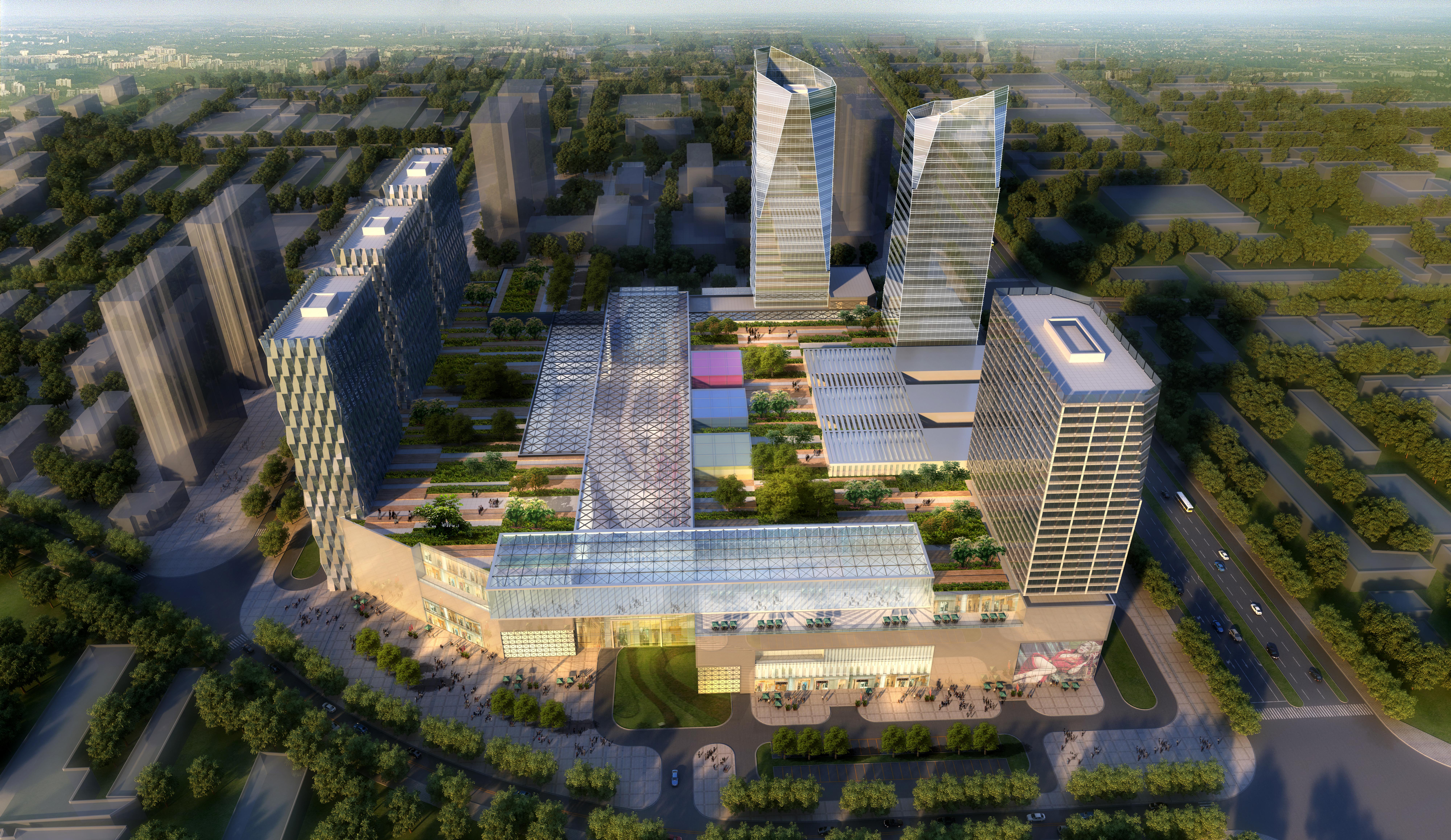 skyscraper business center 029 3d model max 206035