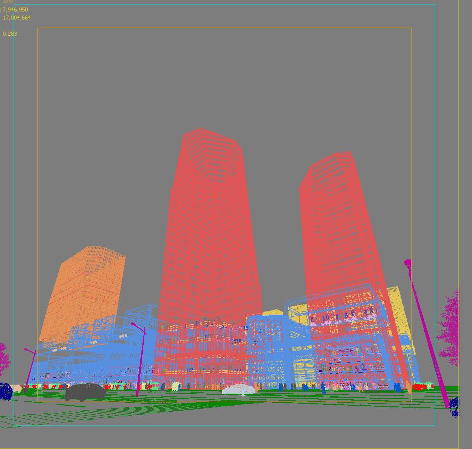 skyscraper business center 029 3d model max 206037