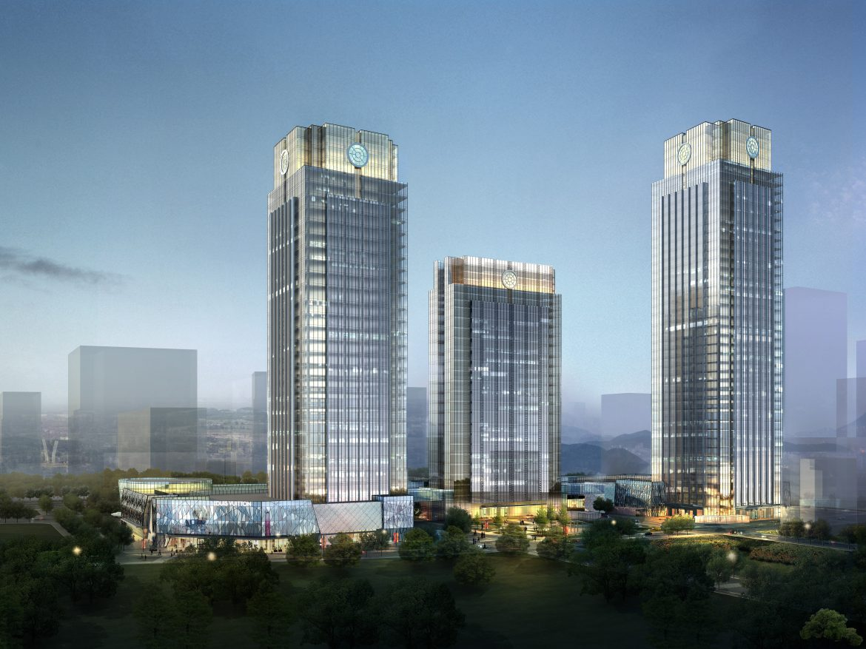skyscraper business center 030 3d model max 206039