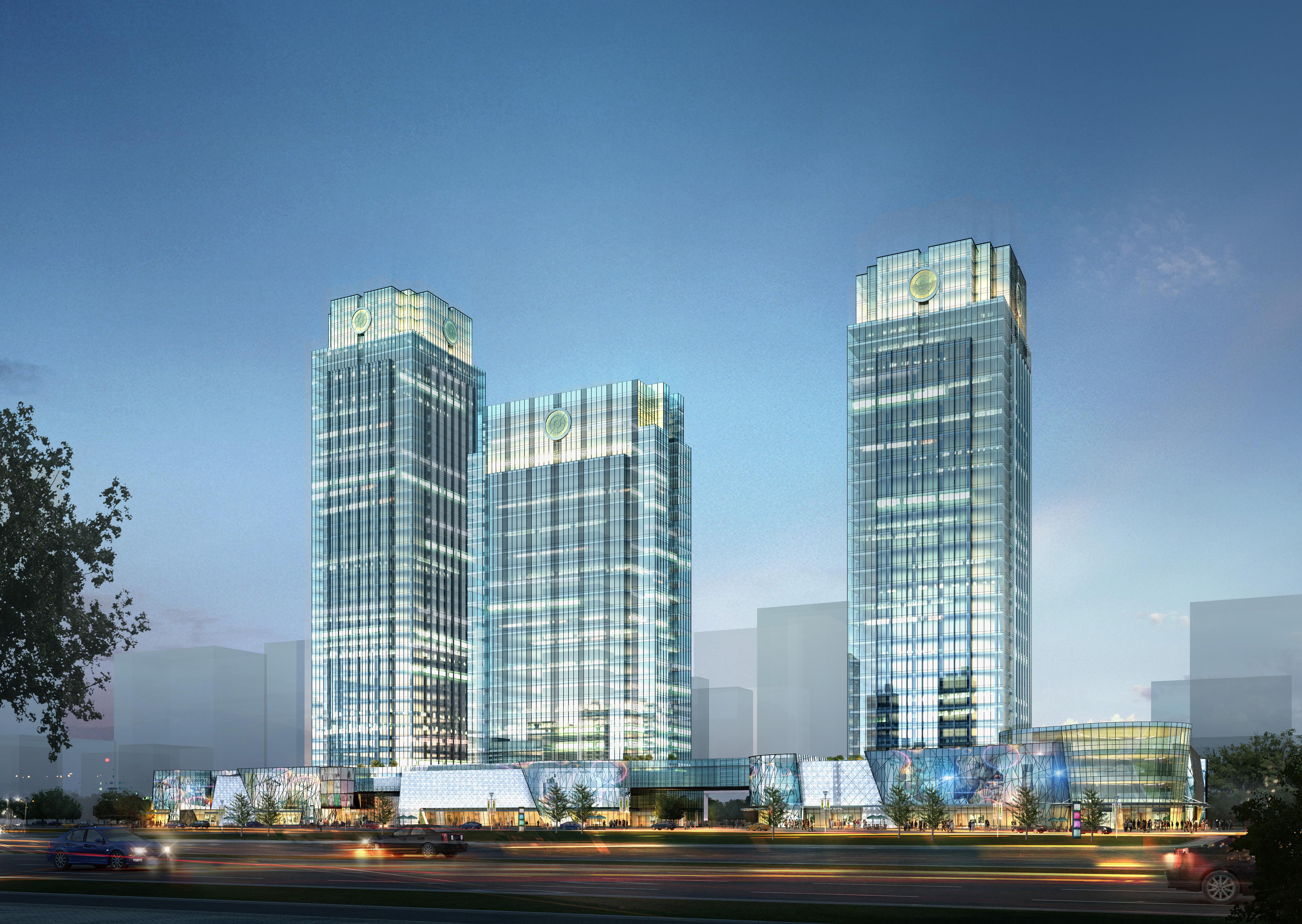 skyscraper business center 030 3d model max 206040