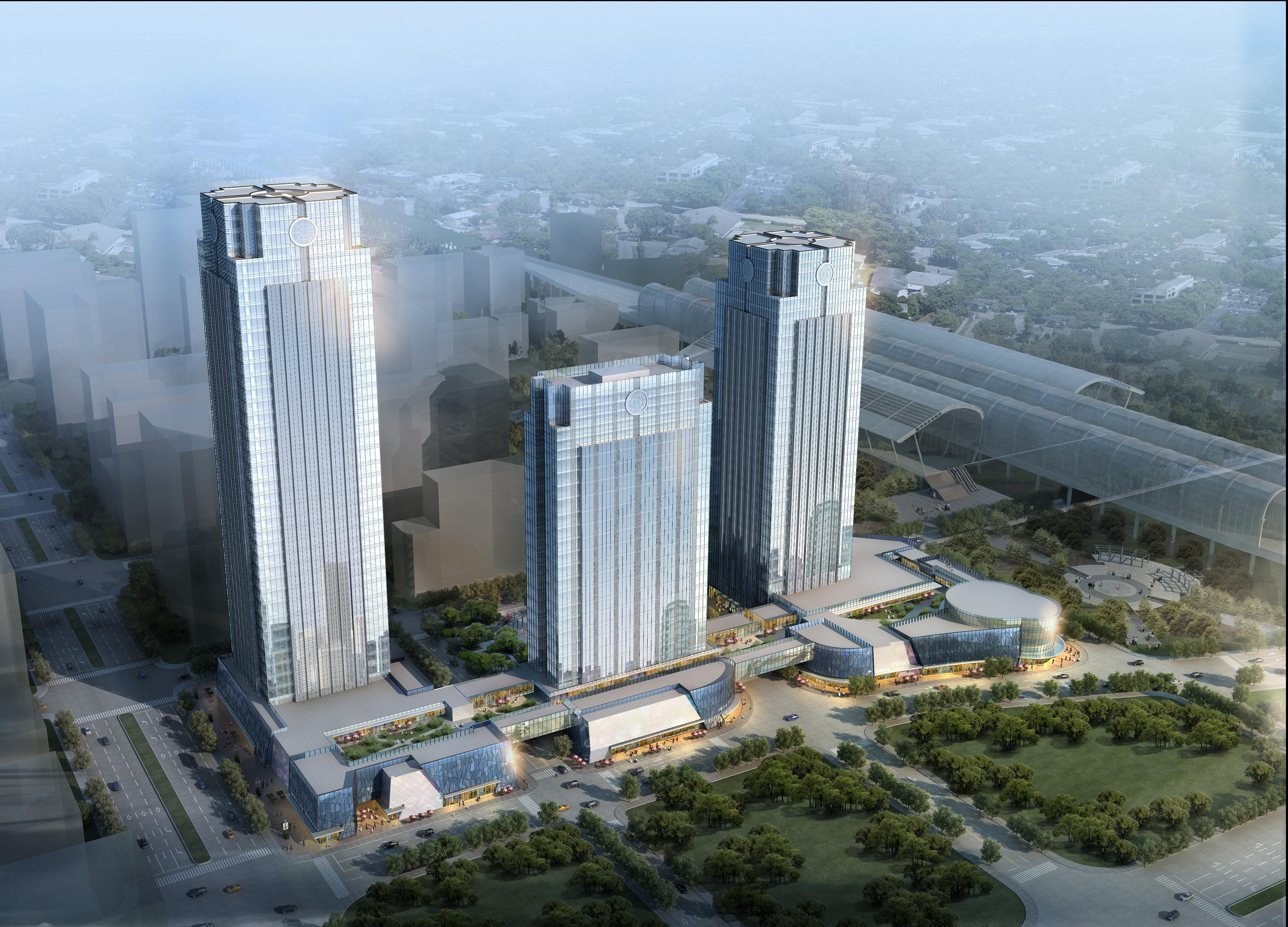 skyscraper business center 030 3d model max 206041