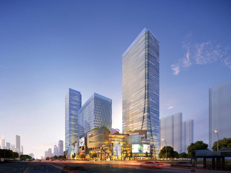 skyscraper business center 043 3d model max 206045