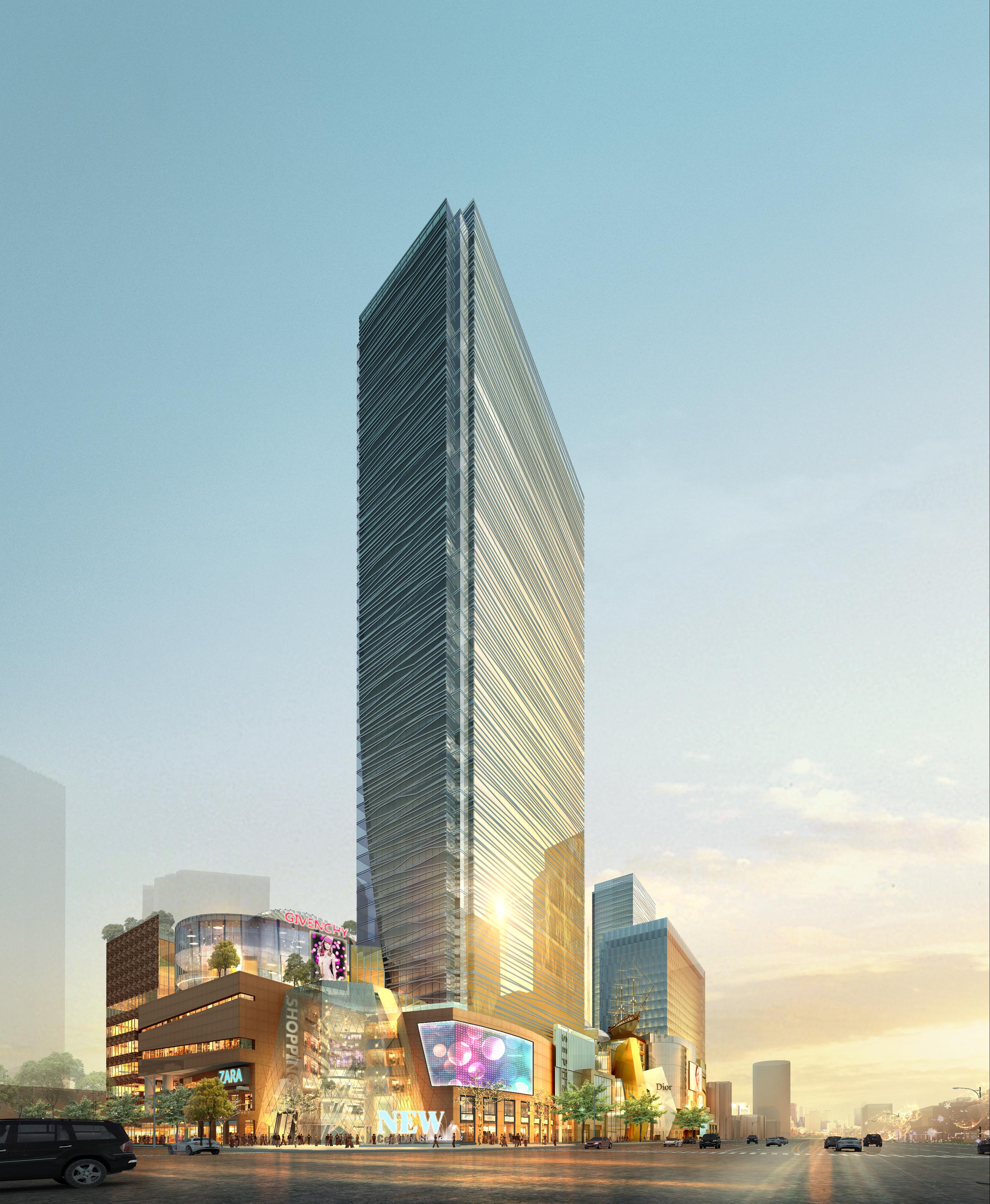 skyscraper business center 043 3d model max 206046