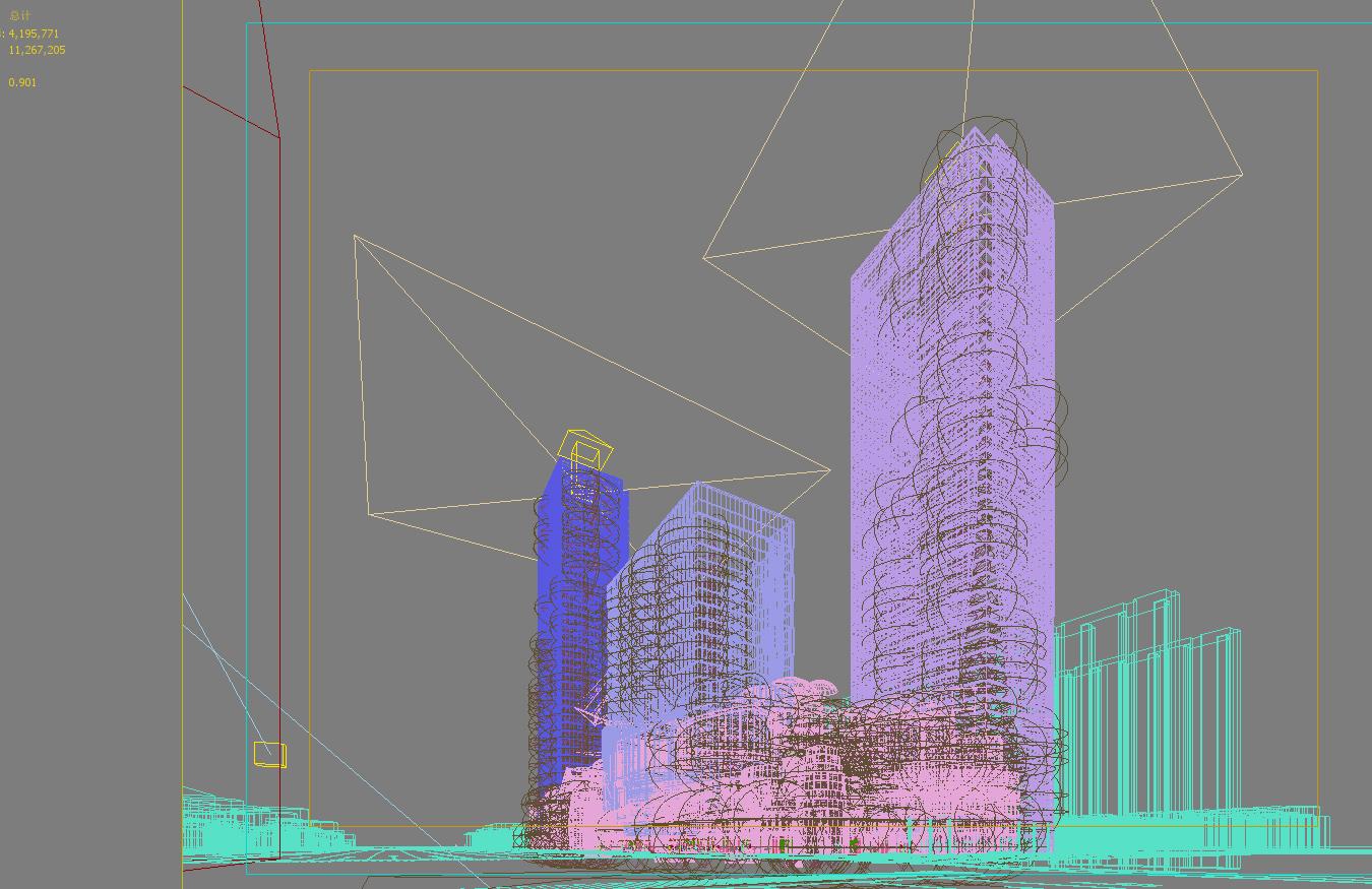 skyscraper business center 043 3d model max 206049