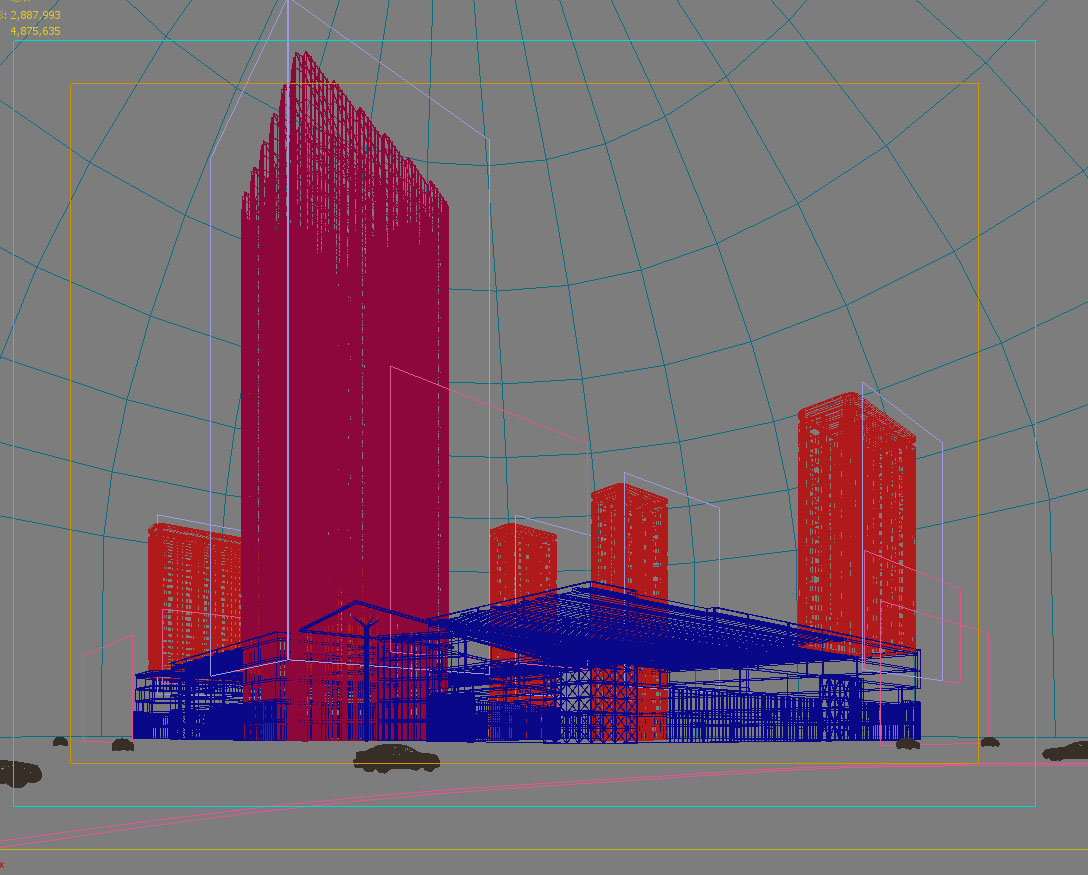 skyscraper business center 031 3d model max 206055