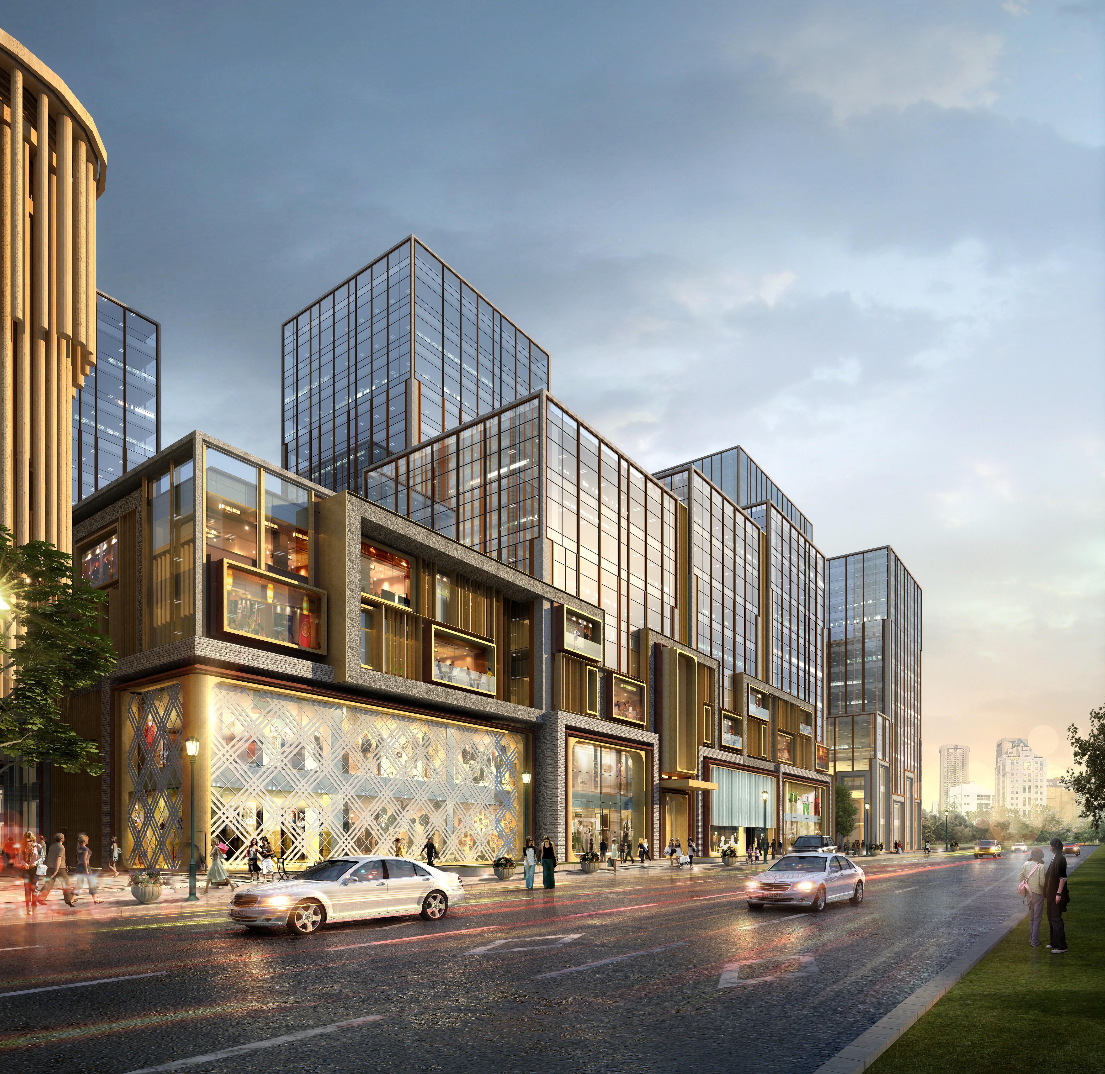 skyscraper business center 032 3d model max 206061