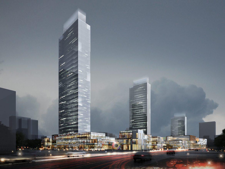 skyscraper business center 034 3d model max 206070