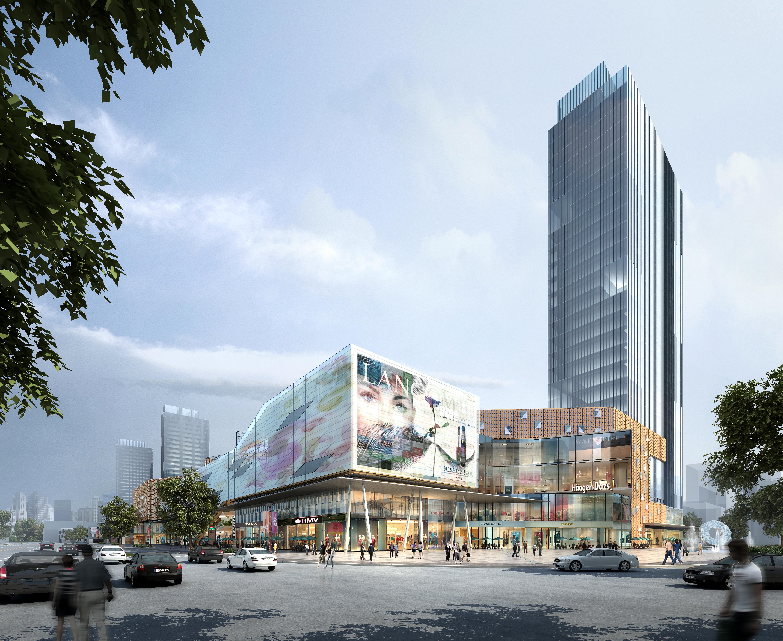 skyscraper business center 034 3d model max 206072