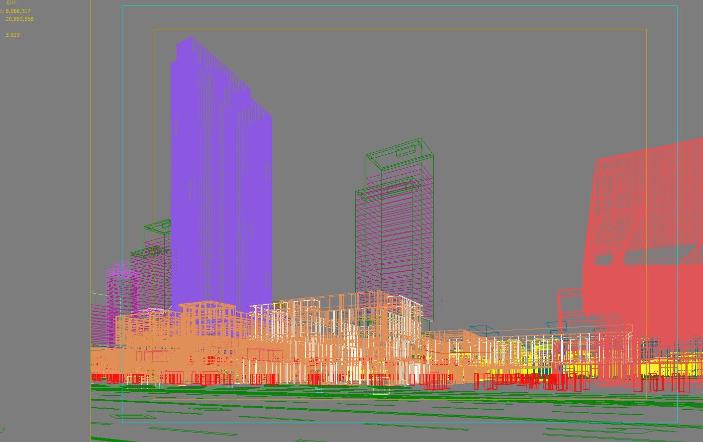 skyscraper business center 034 3d model max 206075