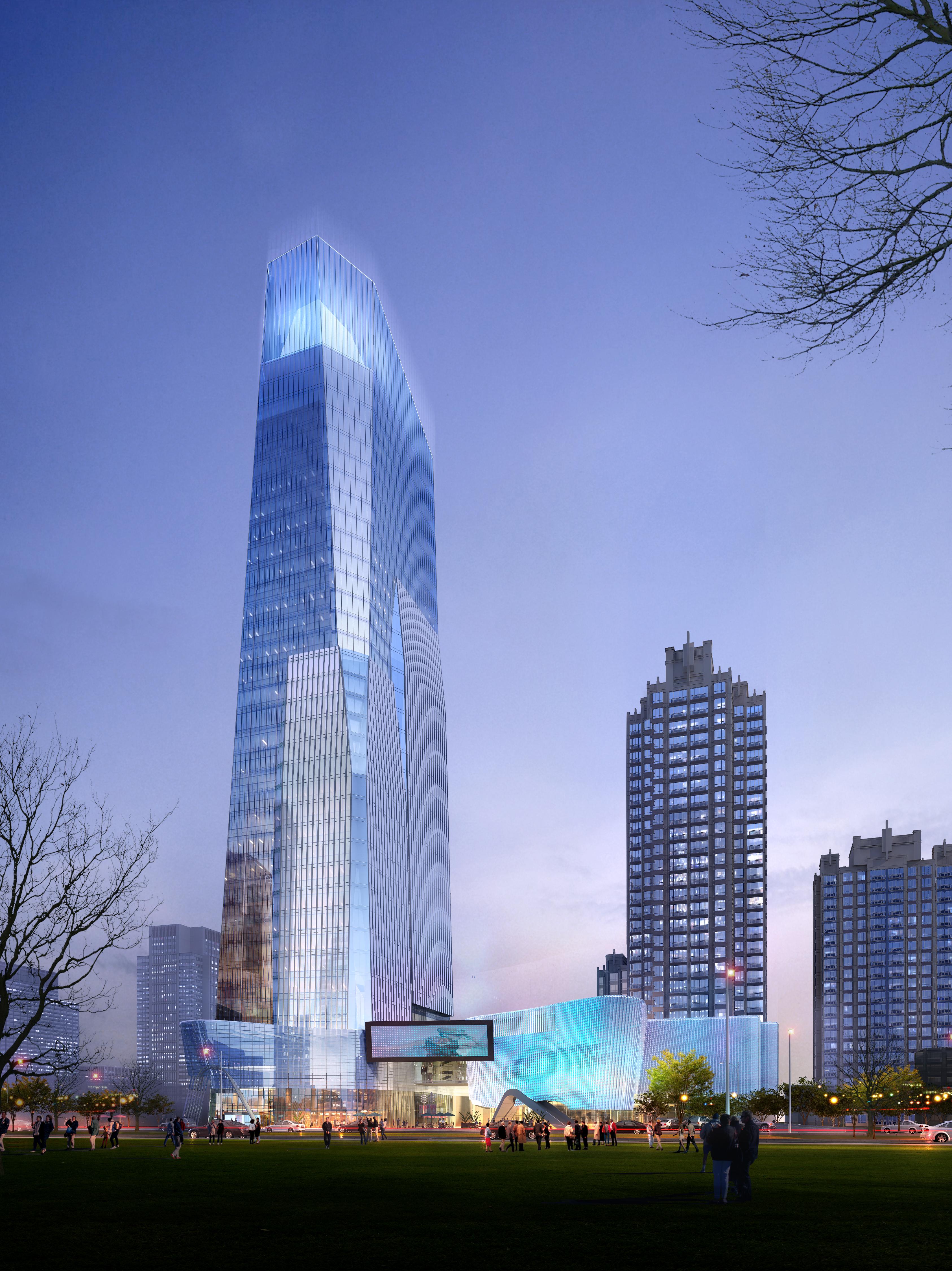 skyscraper business center 036 3d model max 206078