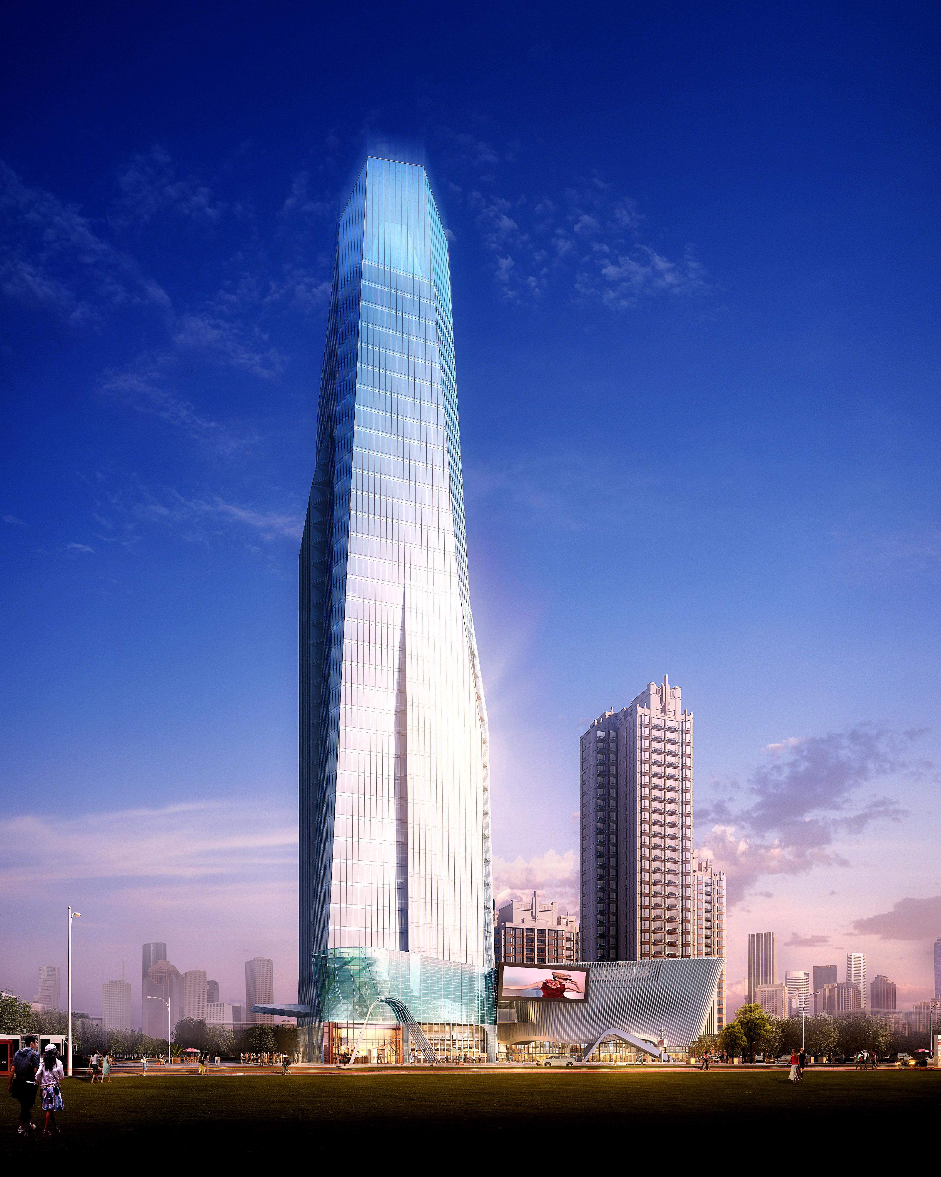 skyscraper business center 036 3d model max 206080