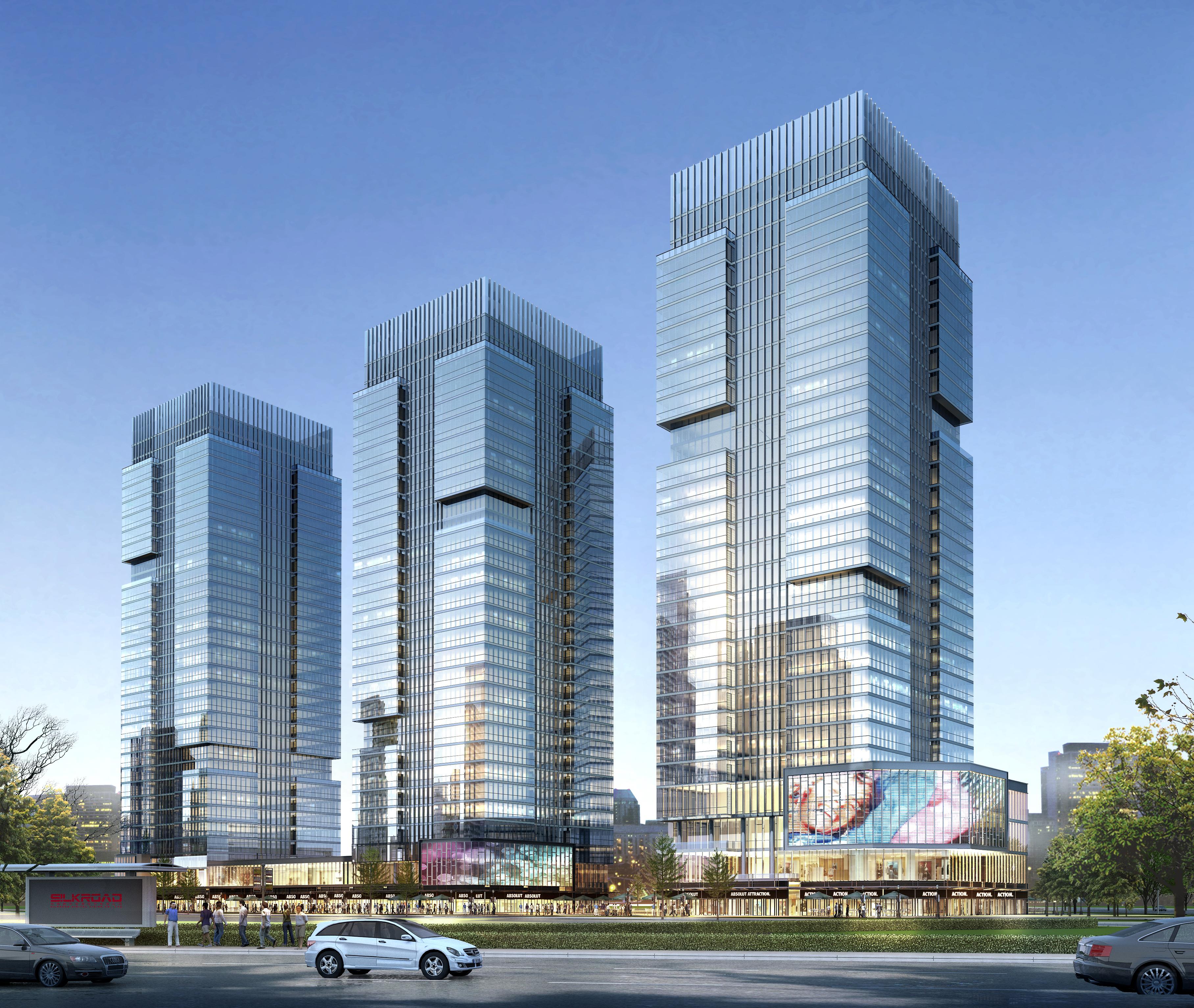 skyscraper business center 037 3d model max 206086