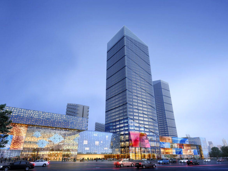 skyscraper business center 039 3d model max psd 206104
