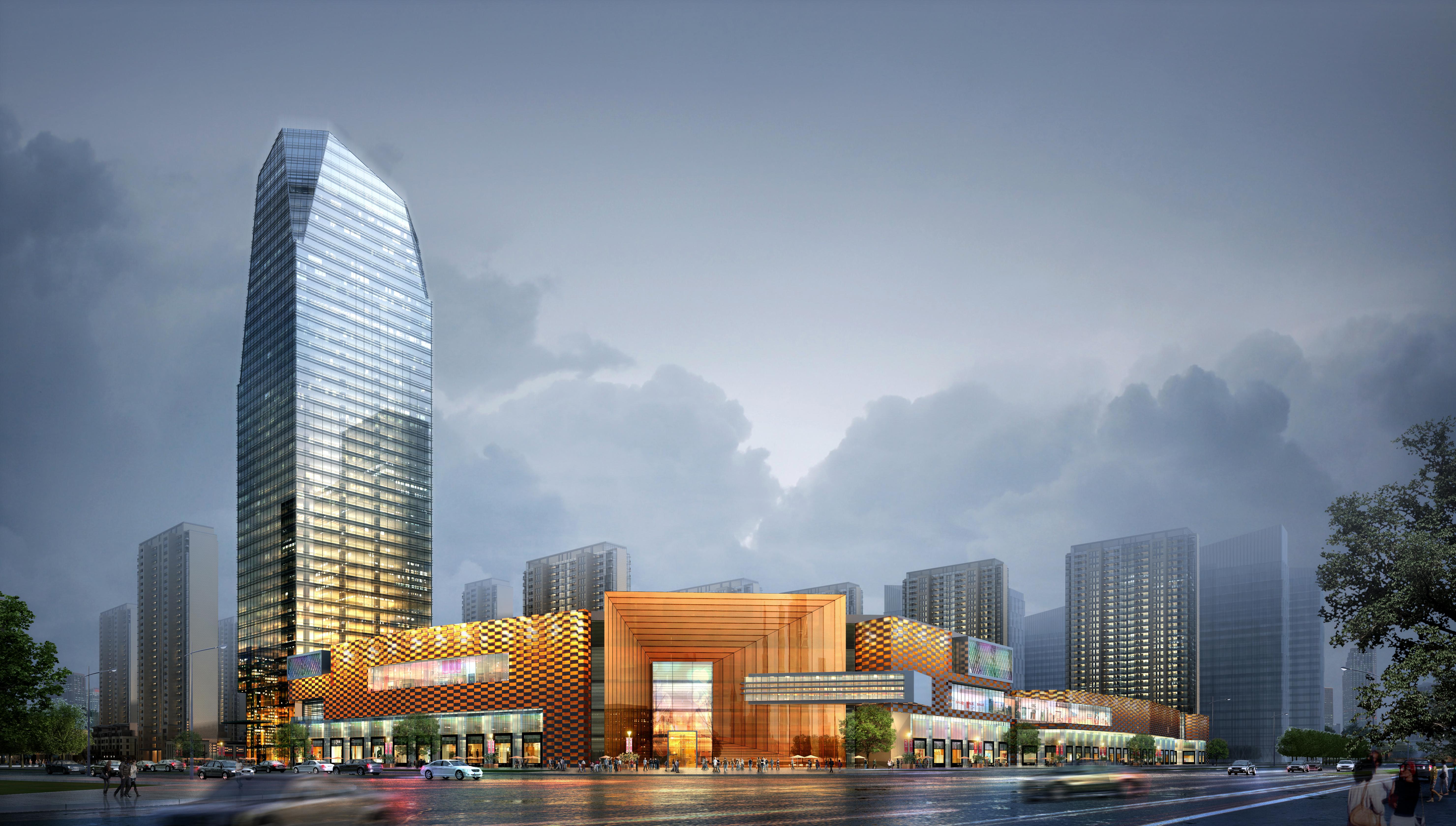 skyscraper business center 041 3d model max 206121