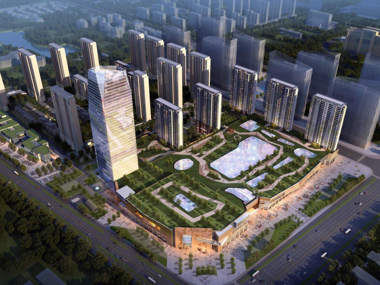 skyscraper business center 041 3d model max 206122