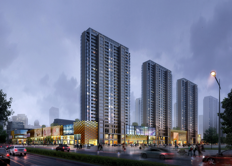 skyscraper business center 041 3d model max 206123