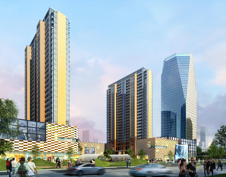 skyscraper business center 041 3d model max 206124