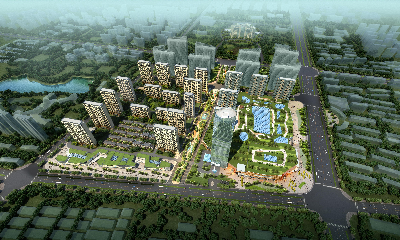 skyscraper business center 041 3d model max 206125