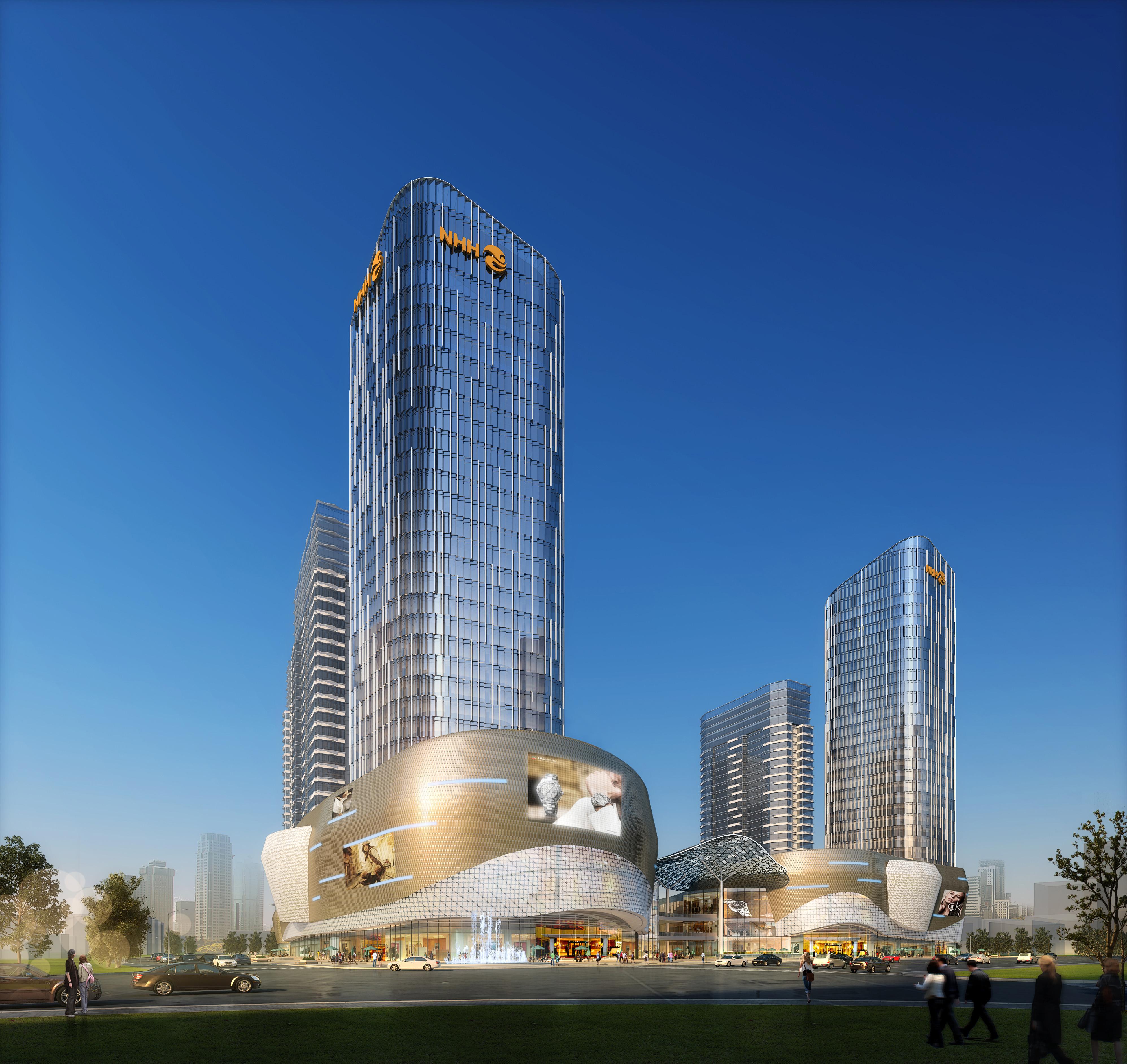 skyscraper business center 042 3d model max 206132
