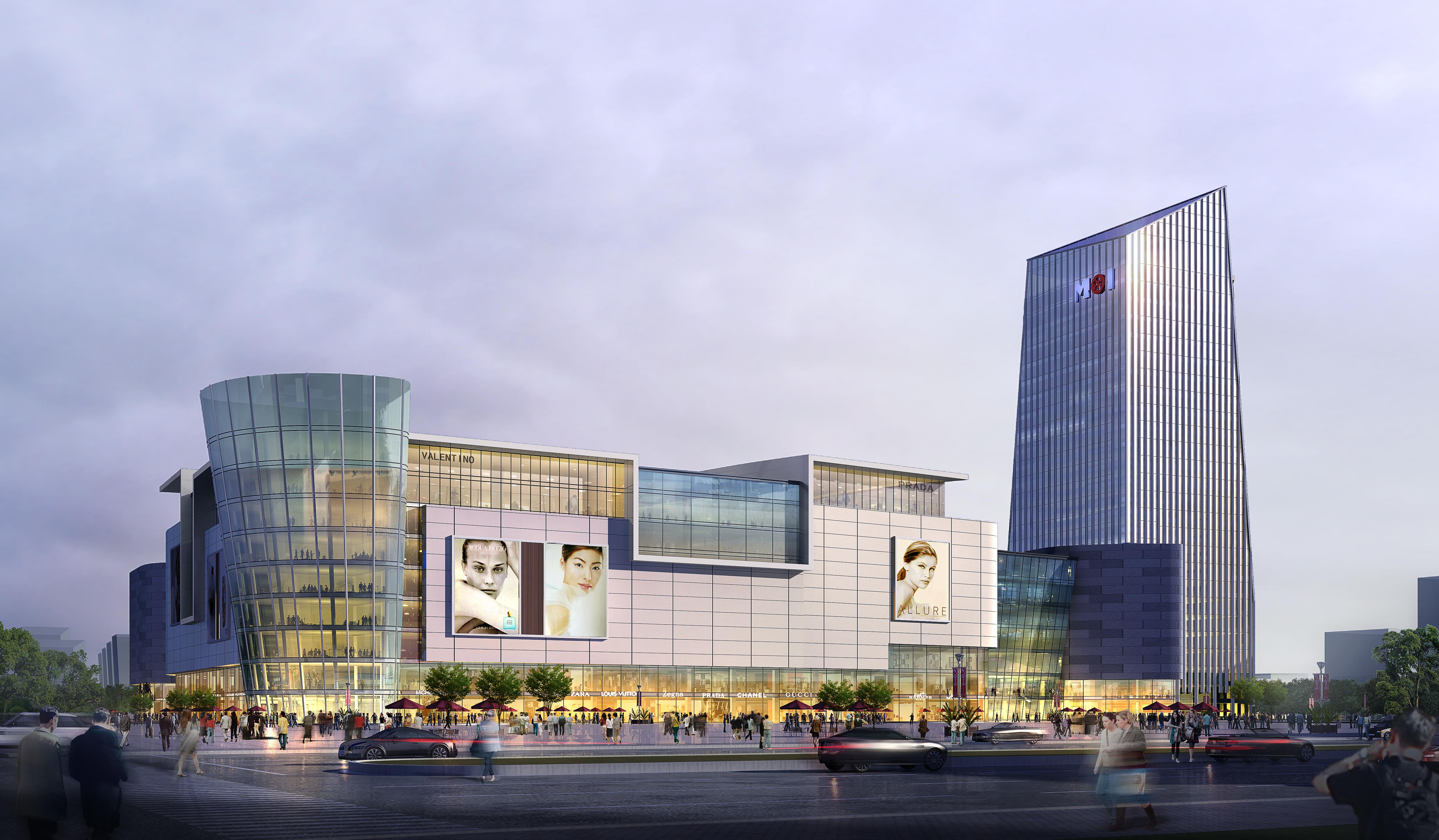 skyscraper business center 044 3d model max 206136