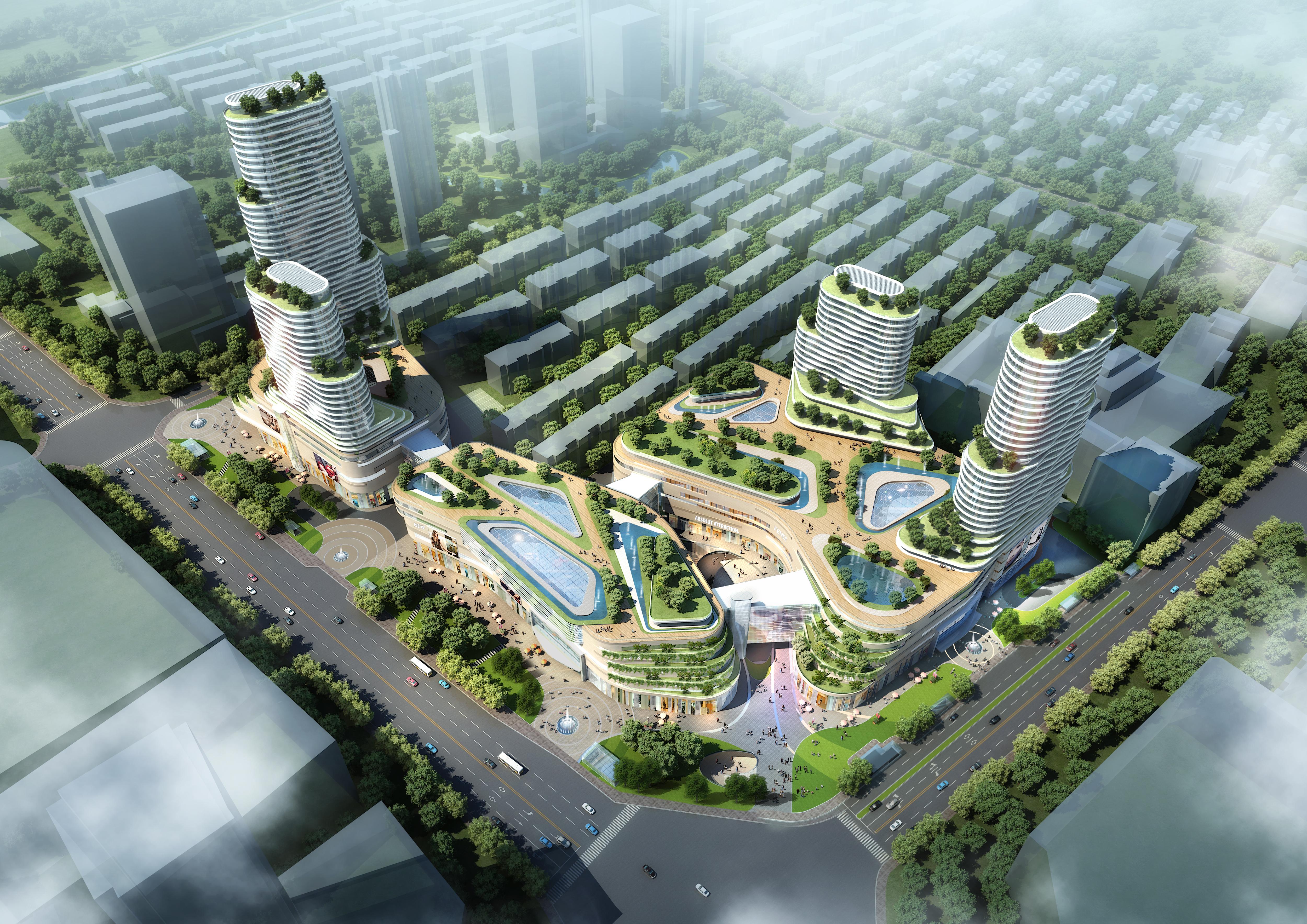 skyscraper business center 045 3d model max 206143