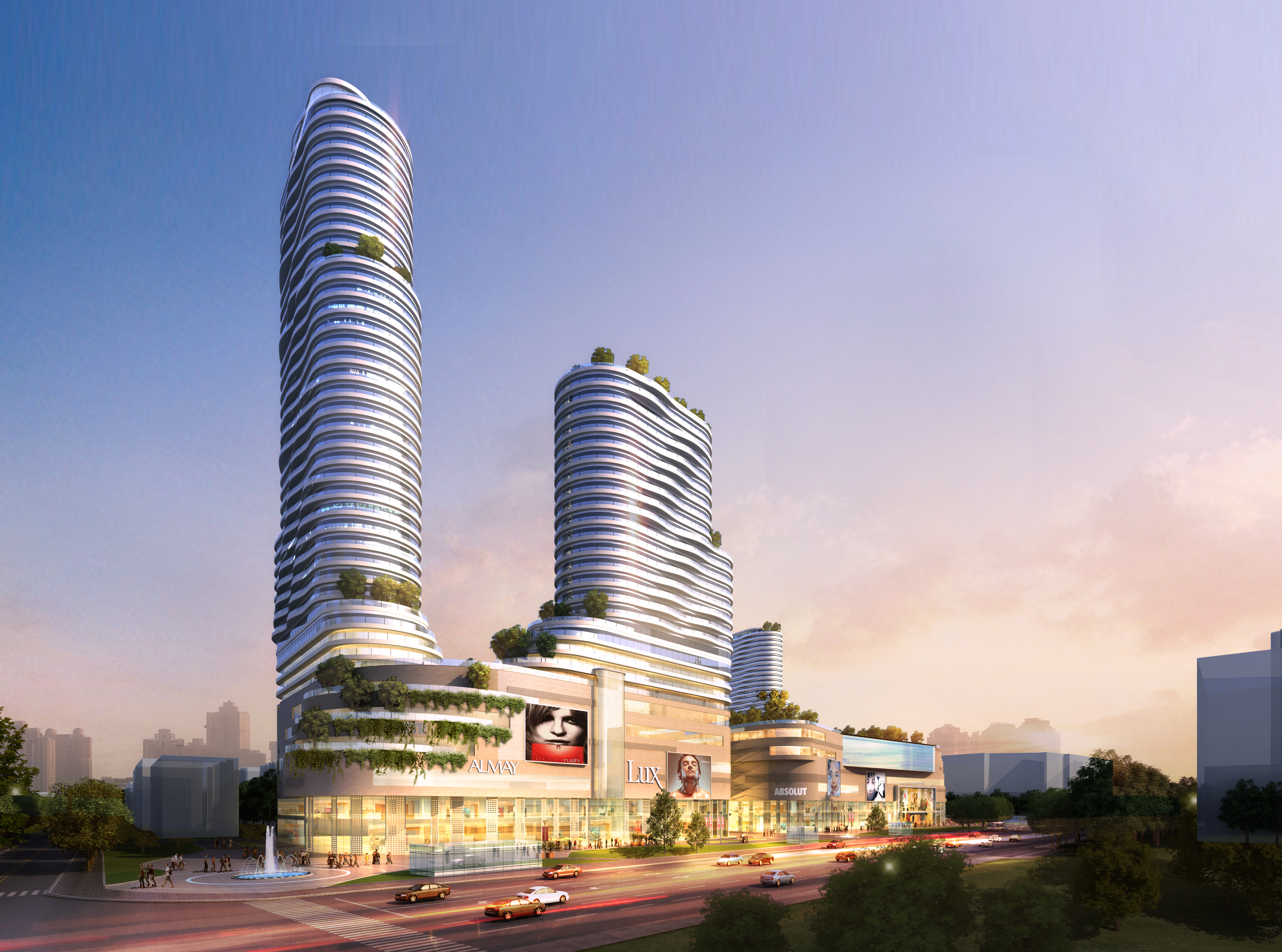 skyscraper business center 045 3d model max 206144