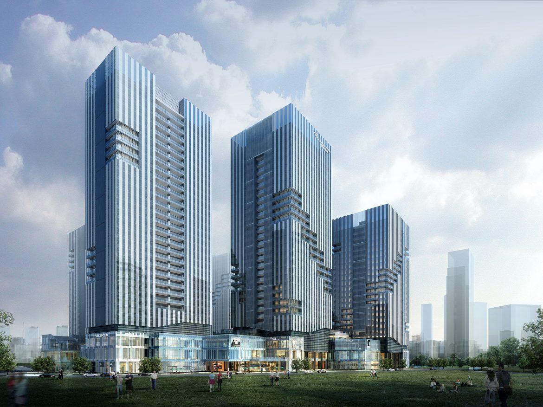 skyscraper business center 046 3d model max psd 206148