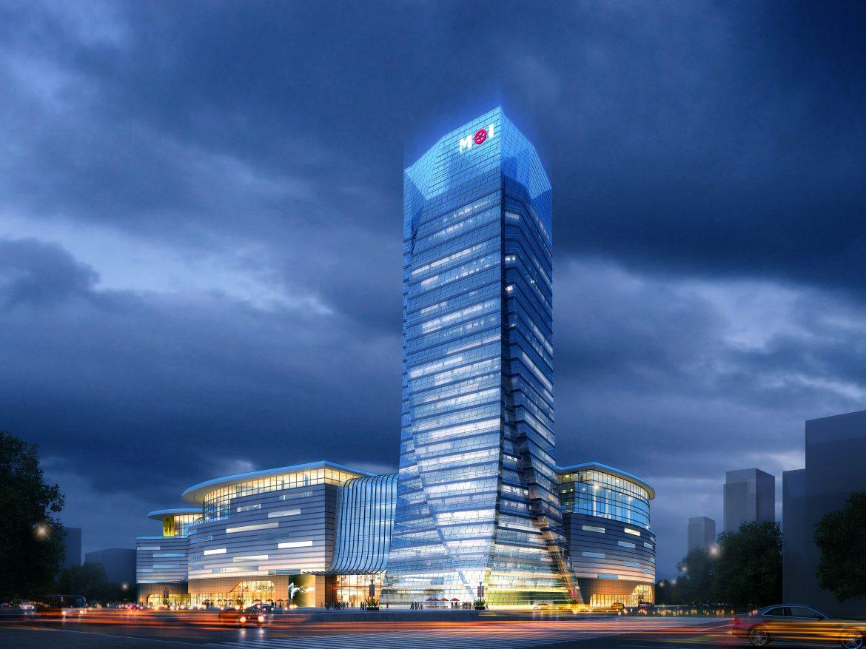 skyscraper business center 047 3d model max 206155