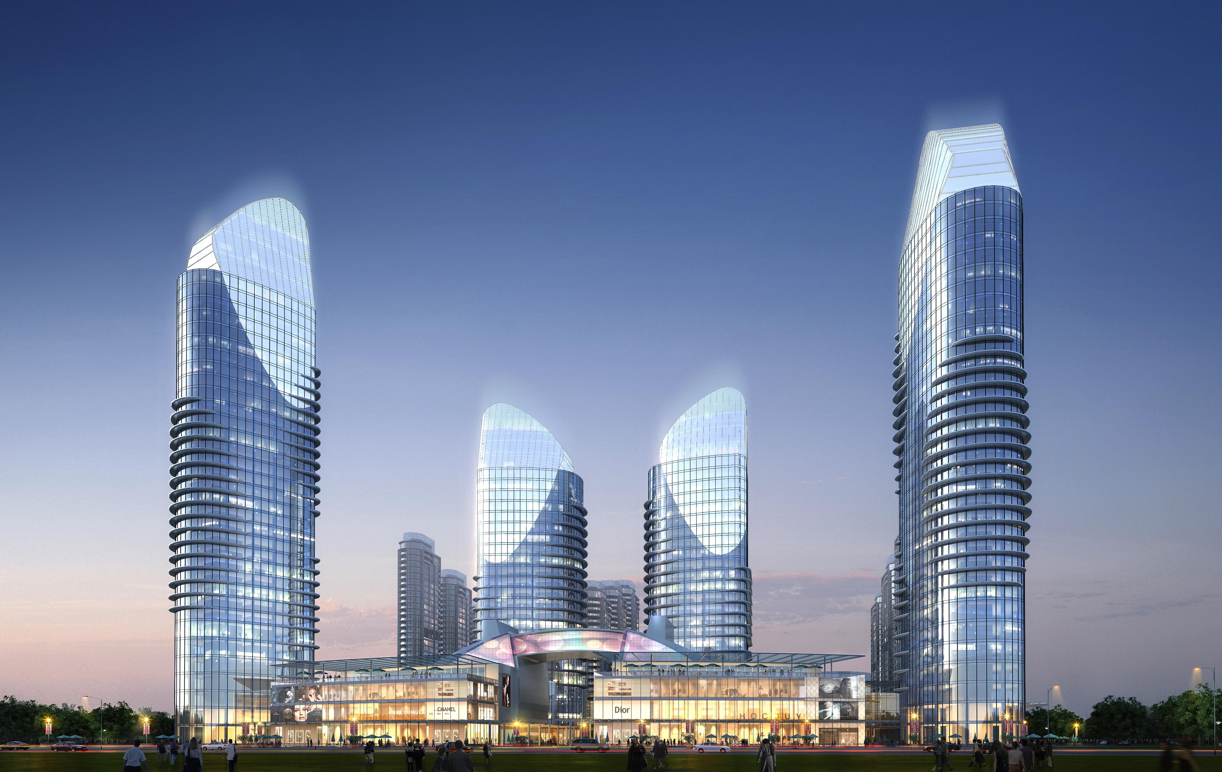 skyscraper business center 048 3d model max 206163