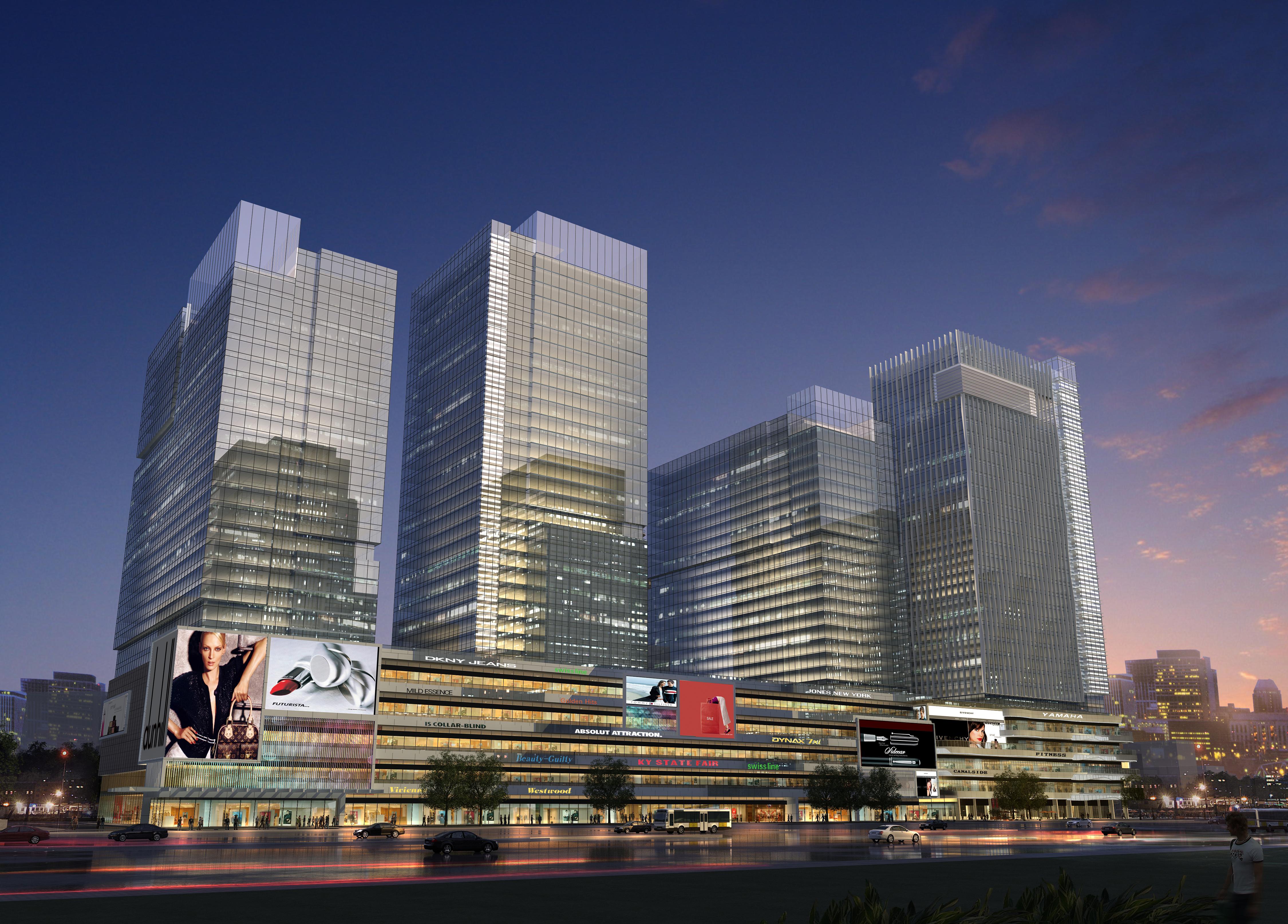 skyscraper business center 049 3d model max 206168