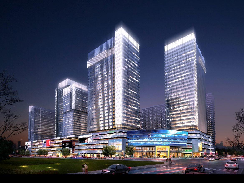 skyscraper business center 049 3d model max 206169