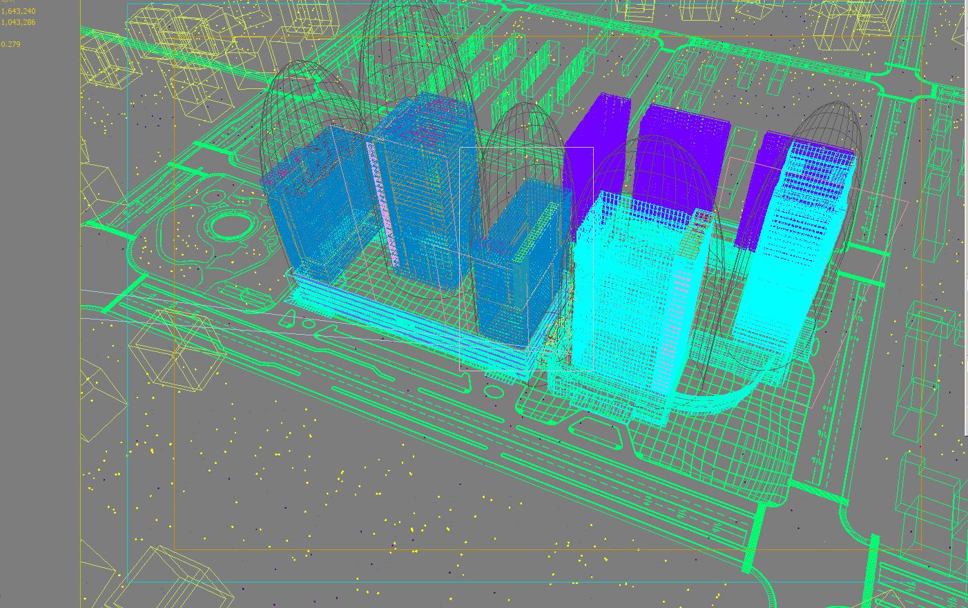 skyscraper business center 049 3d model max 206170