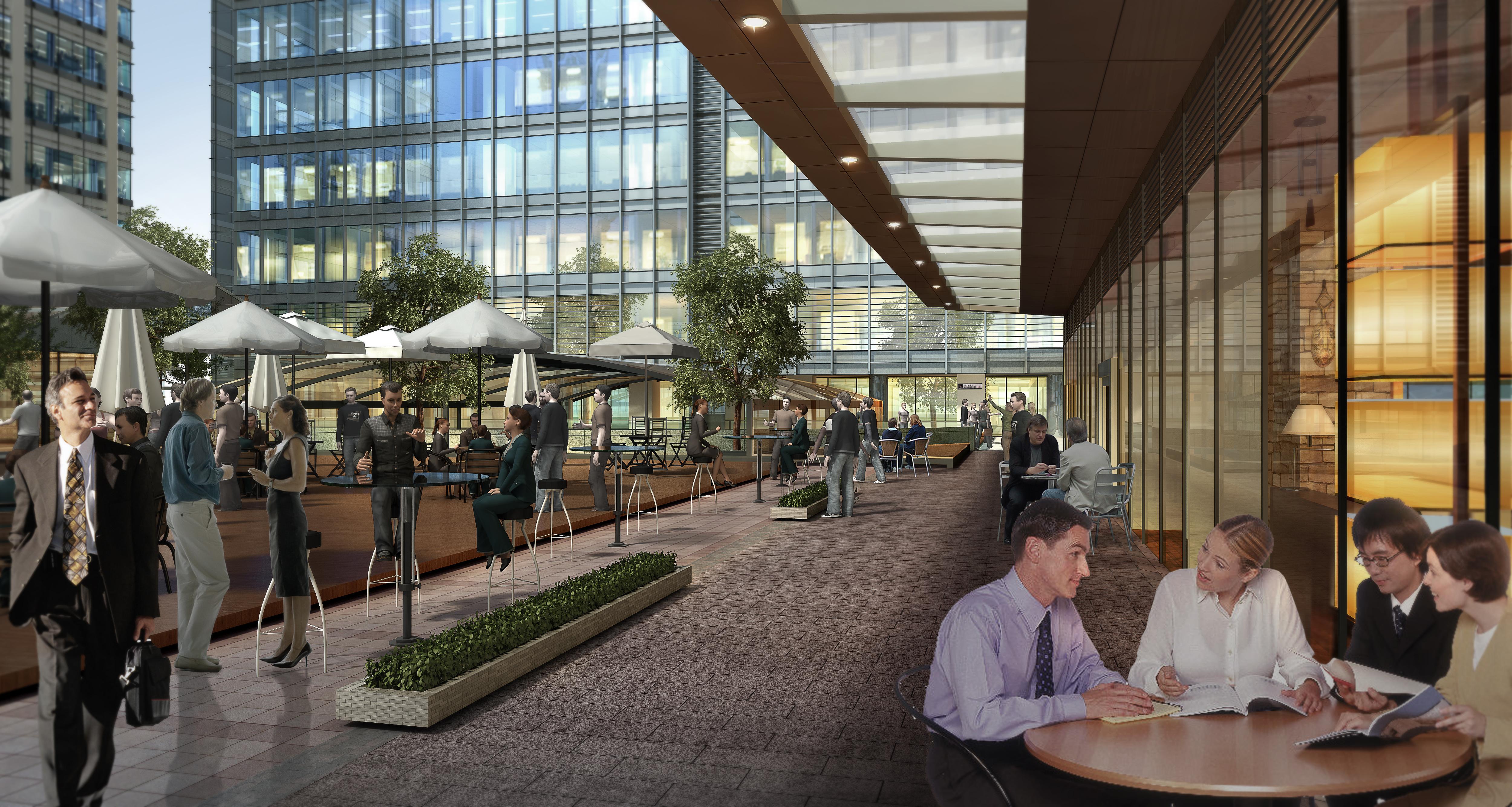 skyscraper business center 052 3d model max psd 206186