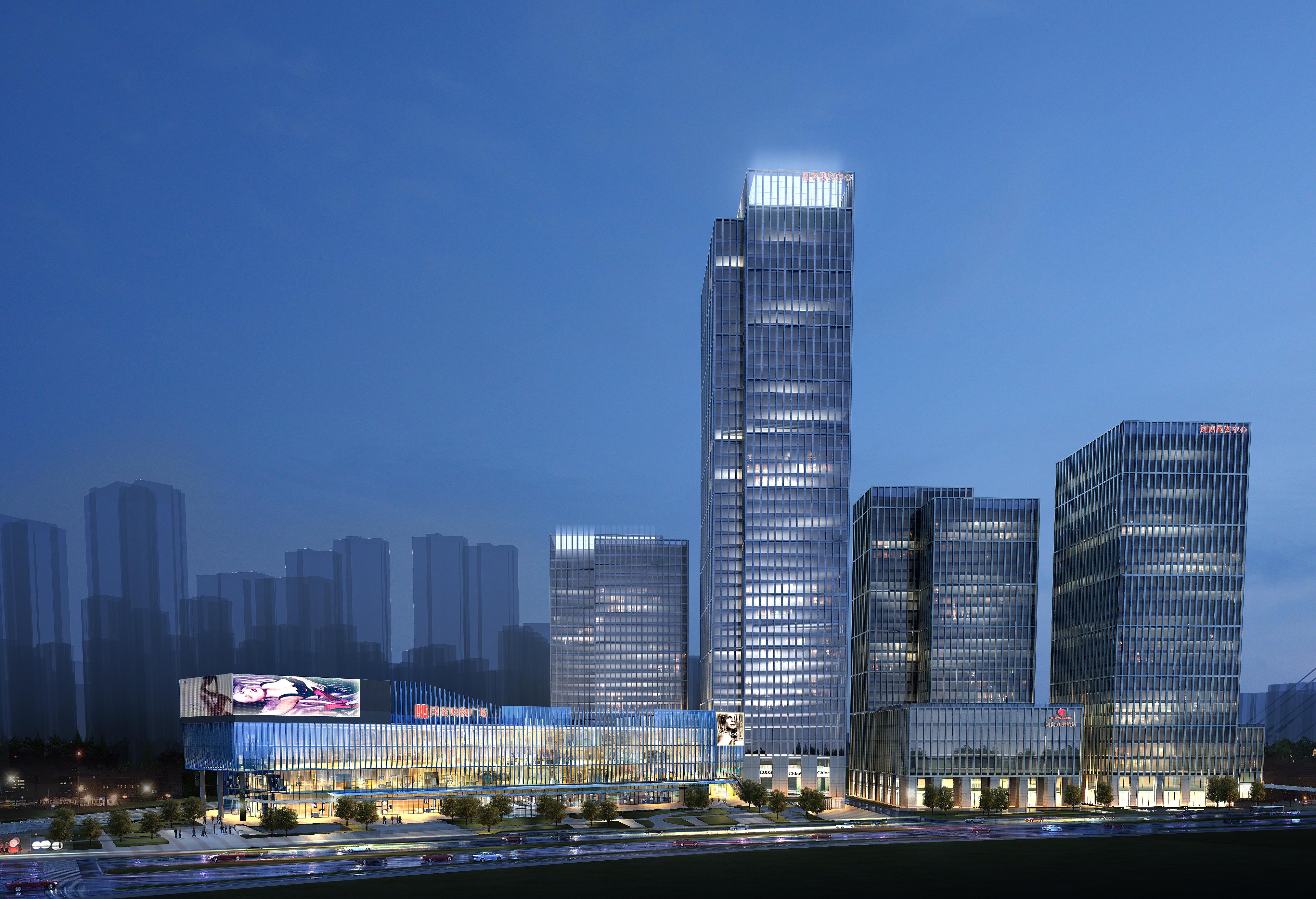 skyscraper business center 057 3d model max 206216