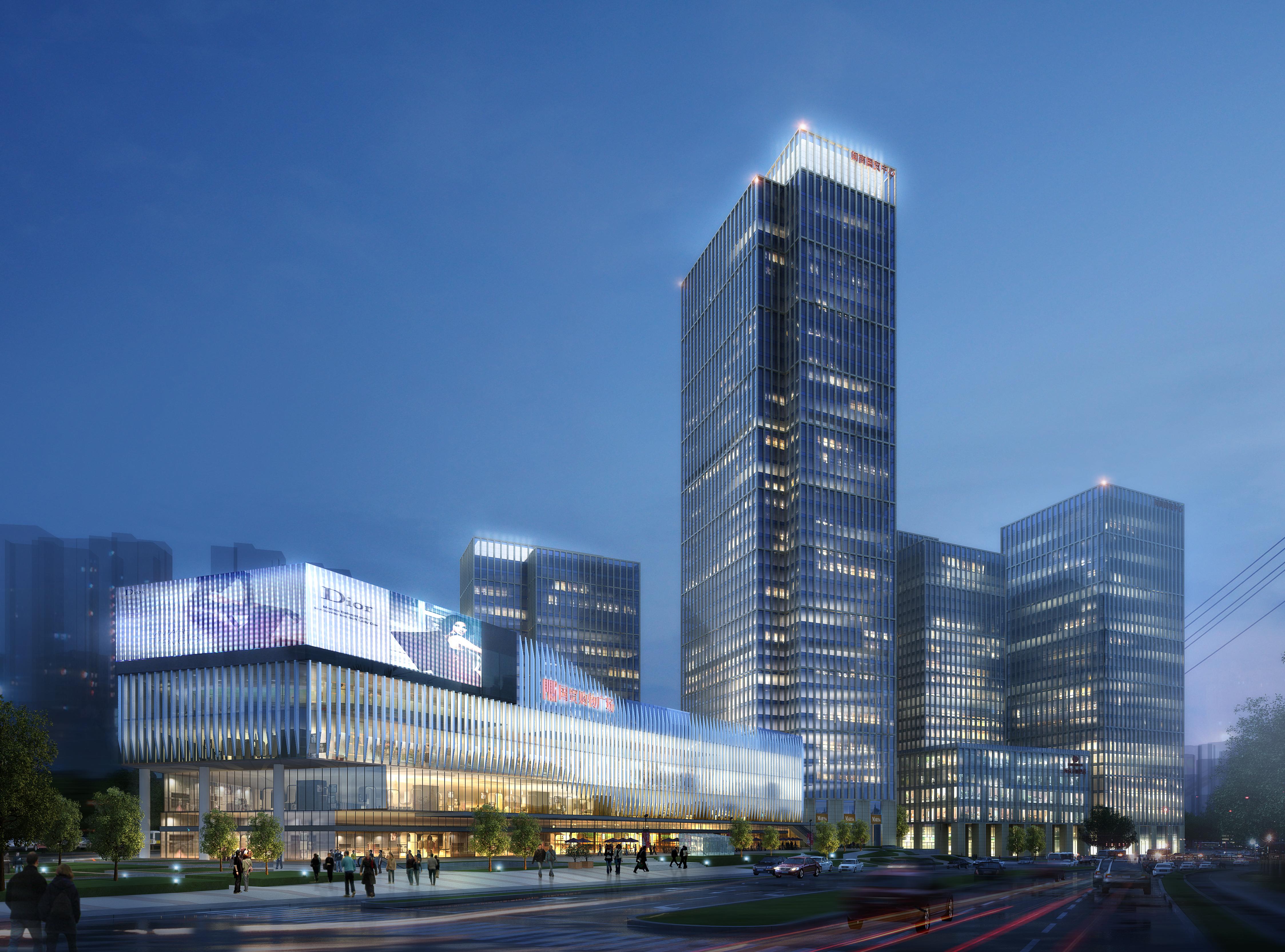 skyscraper business center 057 3d model max 206221
