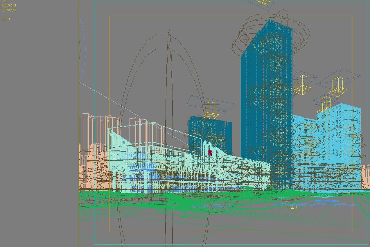 skyscraper business center 057 3d model max 206222