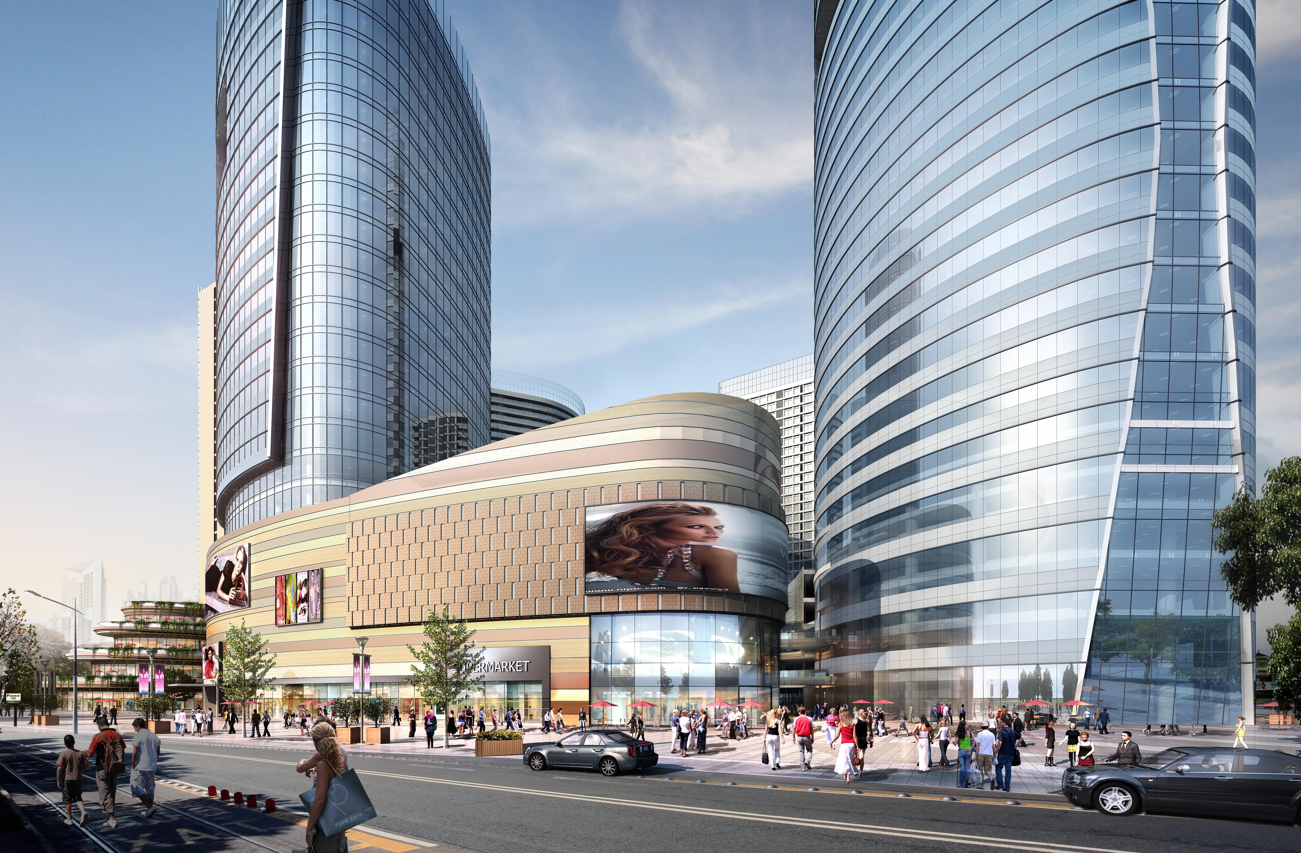 skyscraper business center 059 3d model max 206231