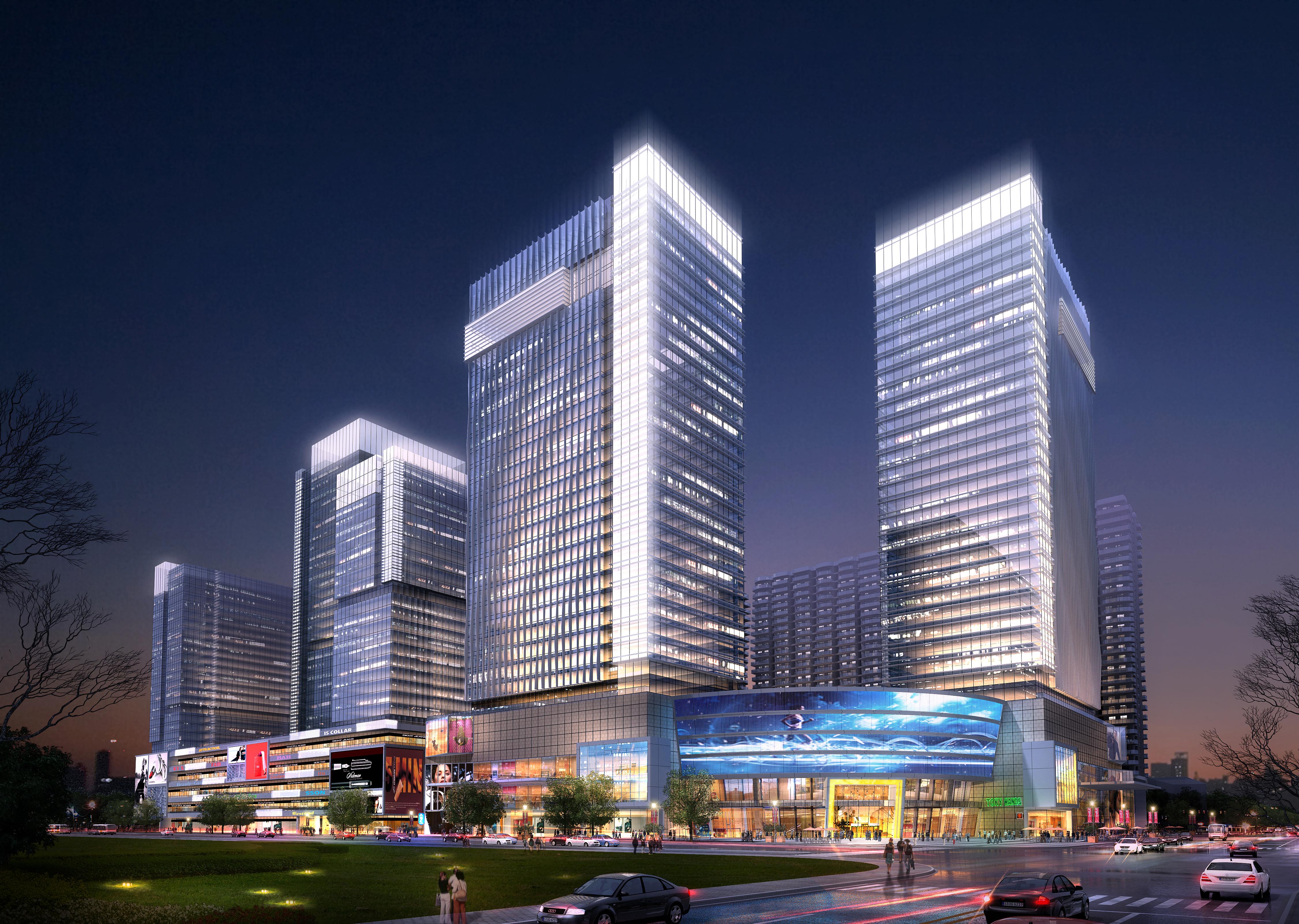 skyscraper business center 060 3d model max 206237