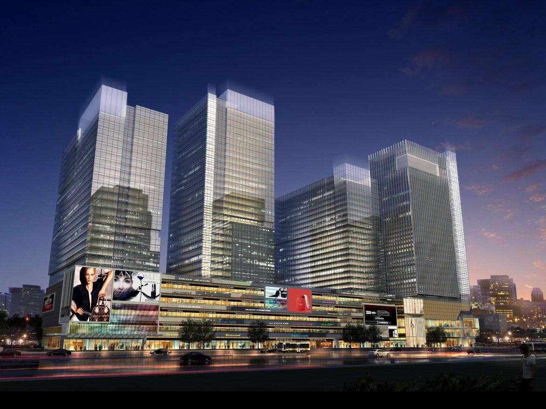 skyscraper business center 060 3d model max 206238