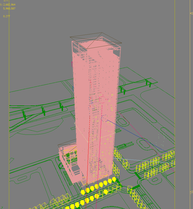 skyscraper office building 002 3d model max 206252