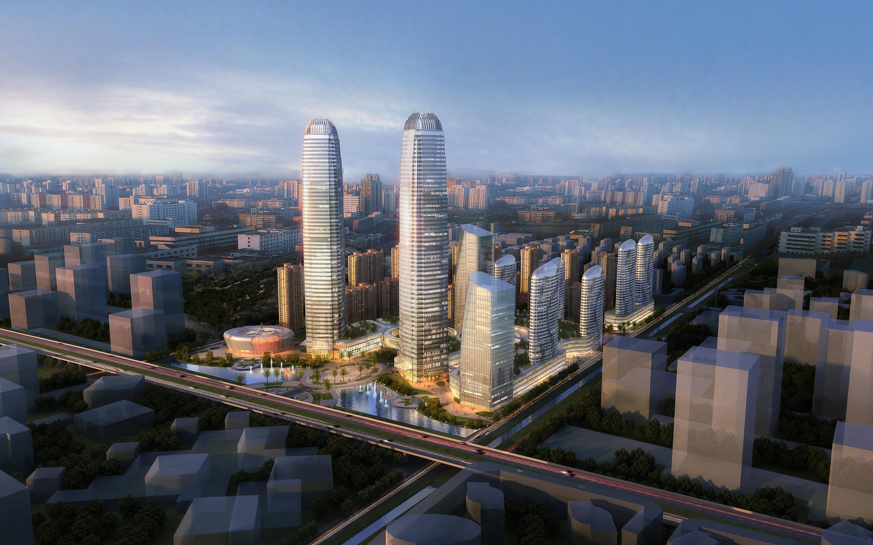 skyscraper office building 003 3d model max 206254