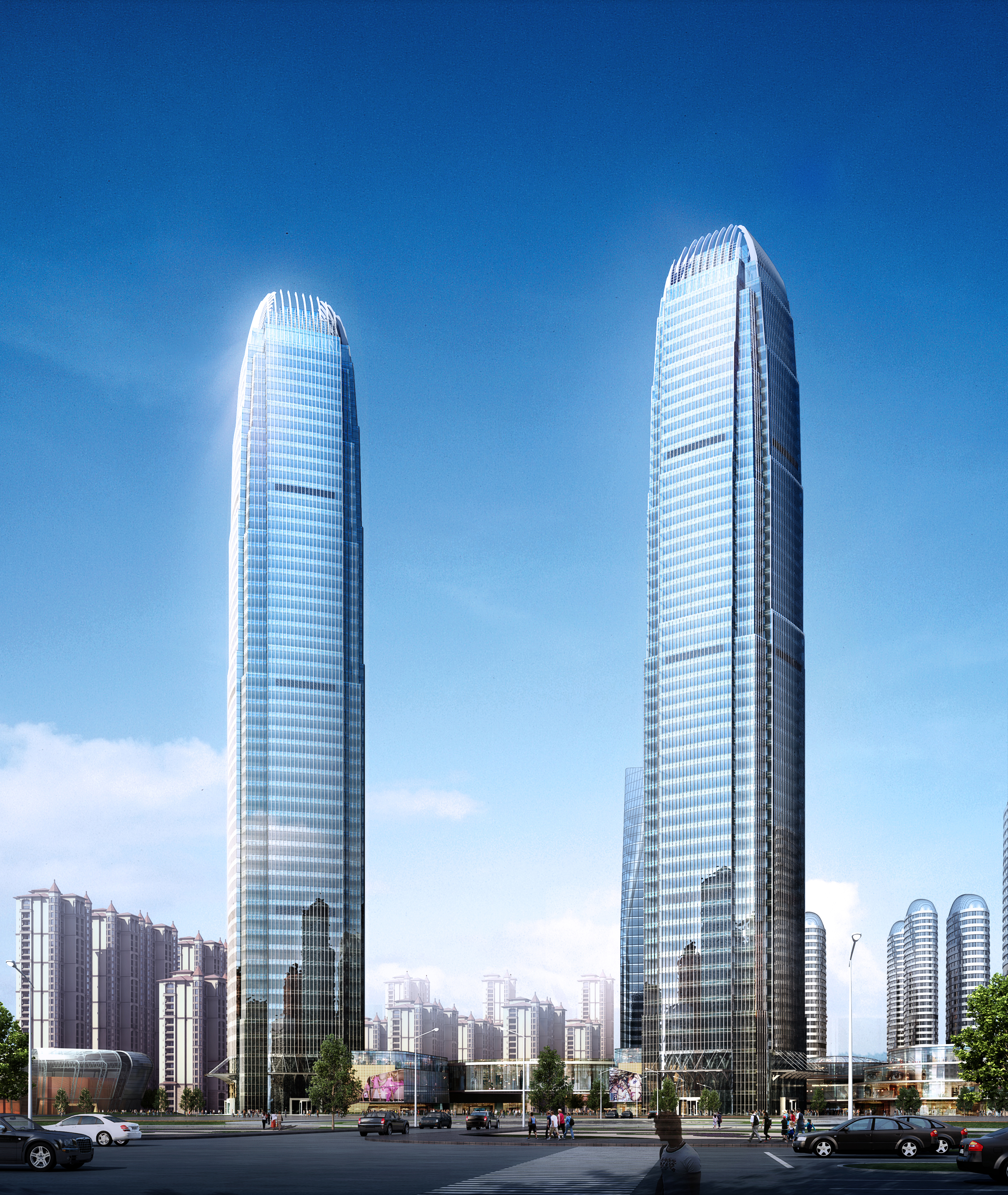 skyscraper office building 003 3d model max 206255