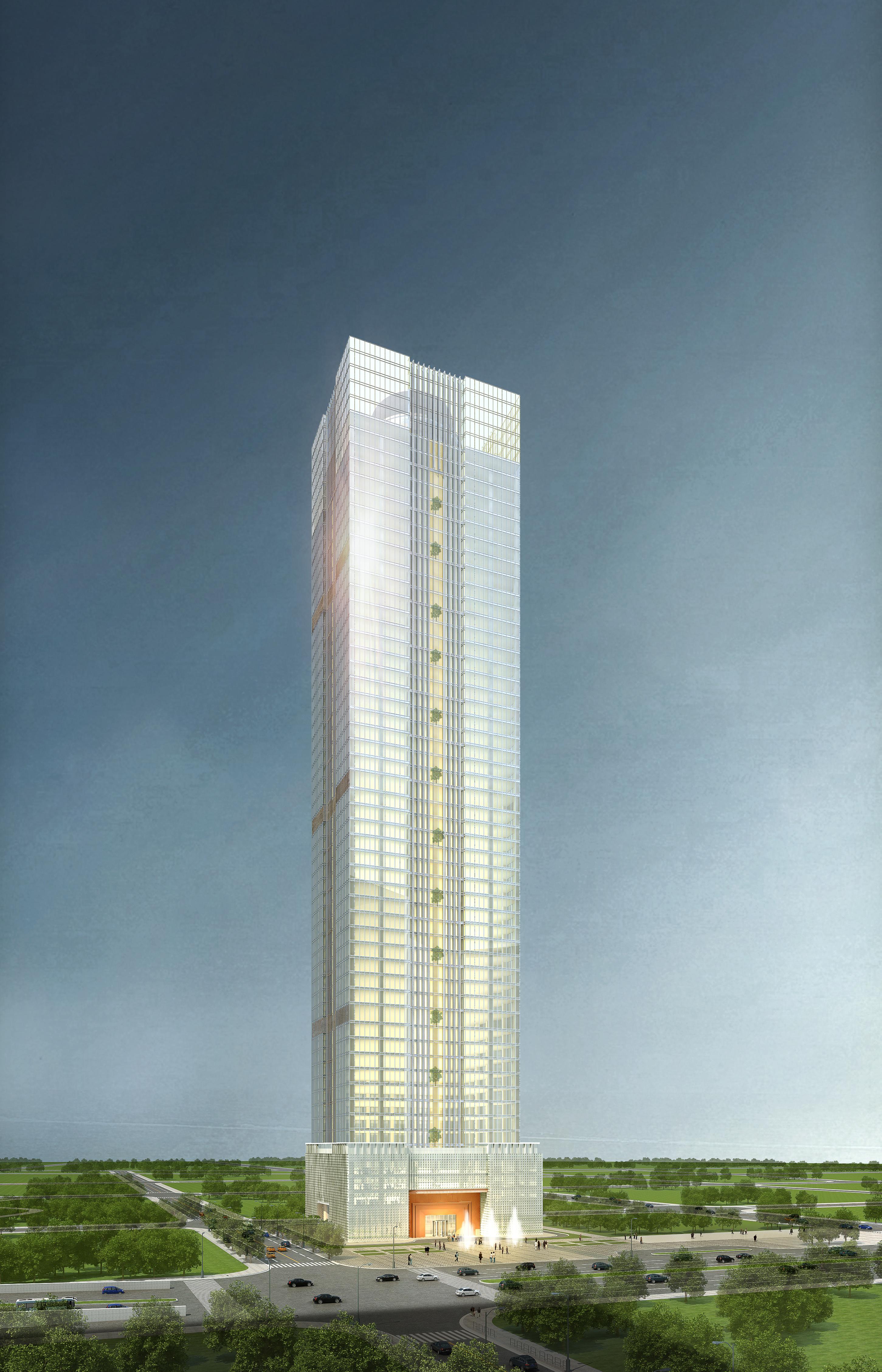 skyscraper office building 005 3d model max psd 206269