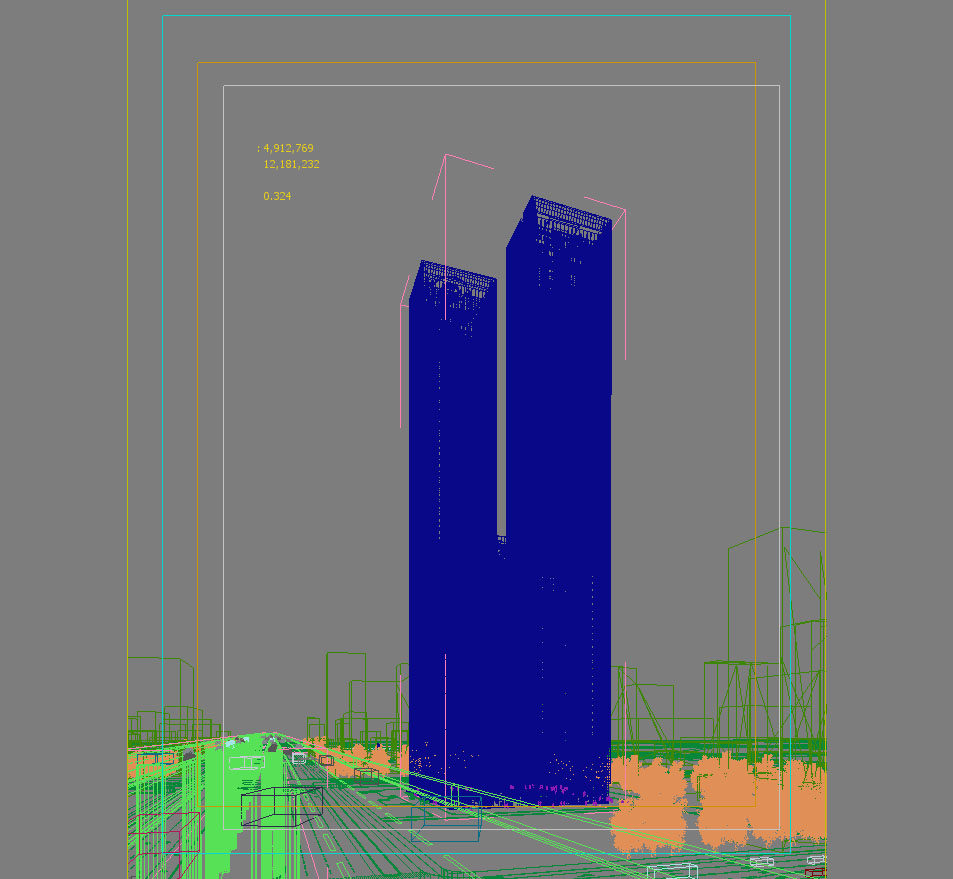 skyscraper office building 006 3d model max 206278