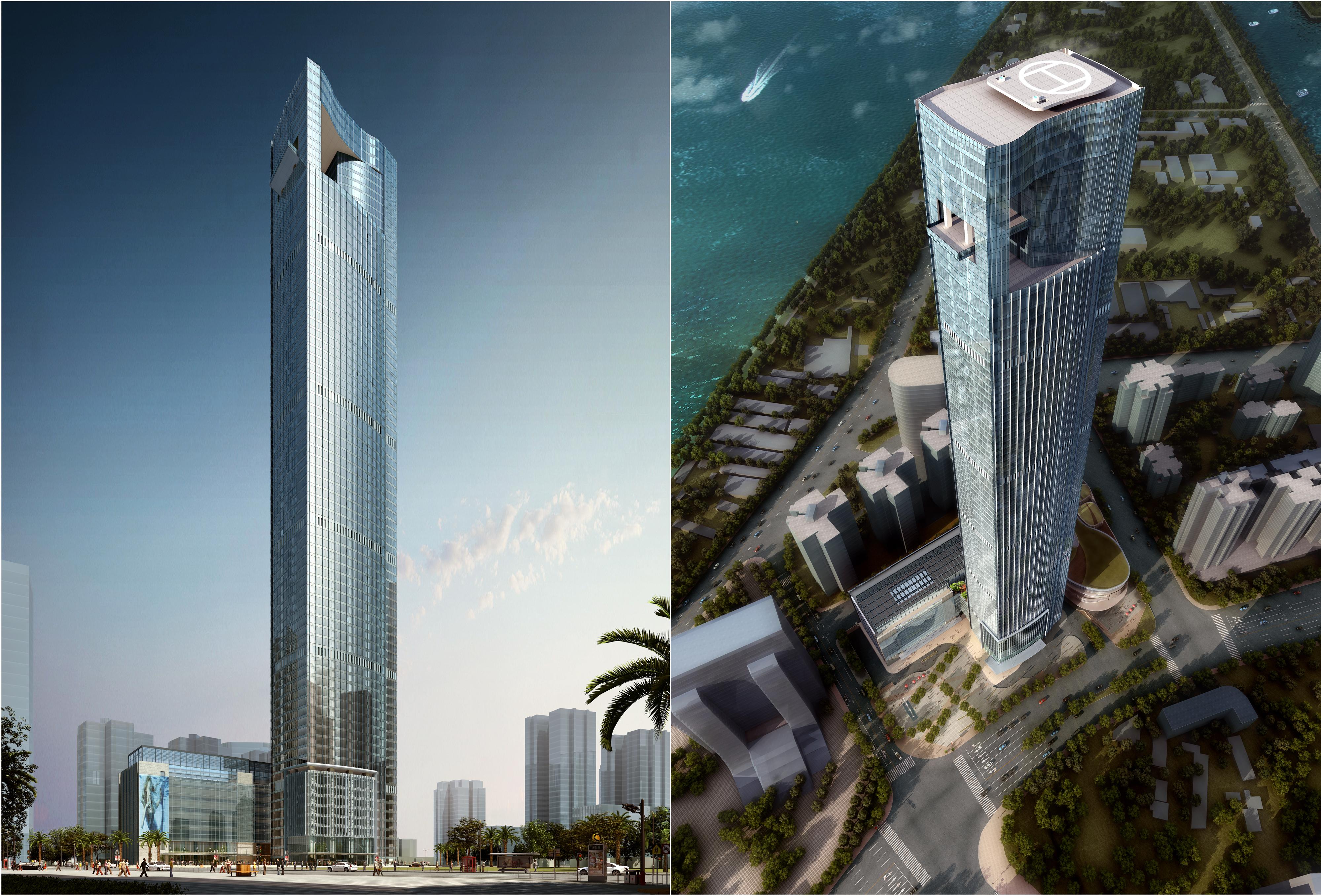 skyscraper office building 007 3d model max 206280