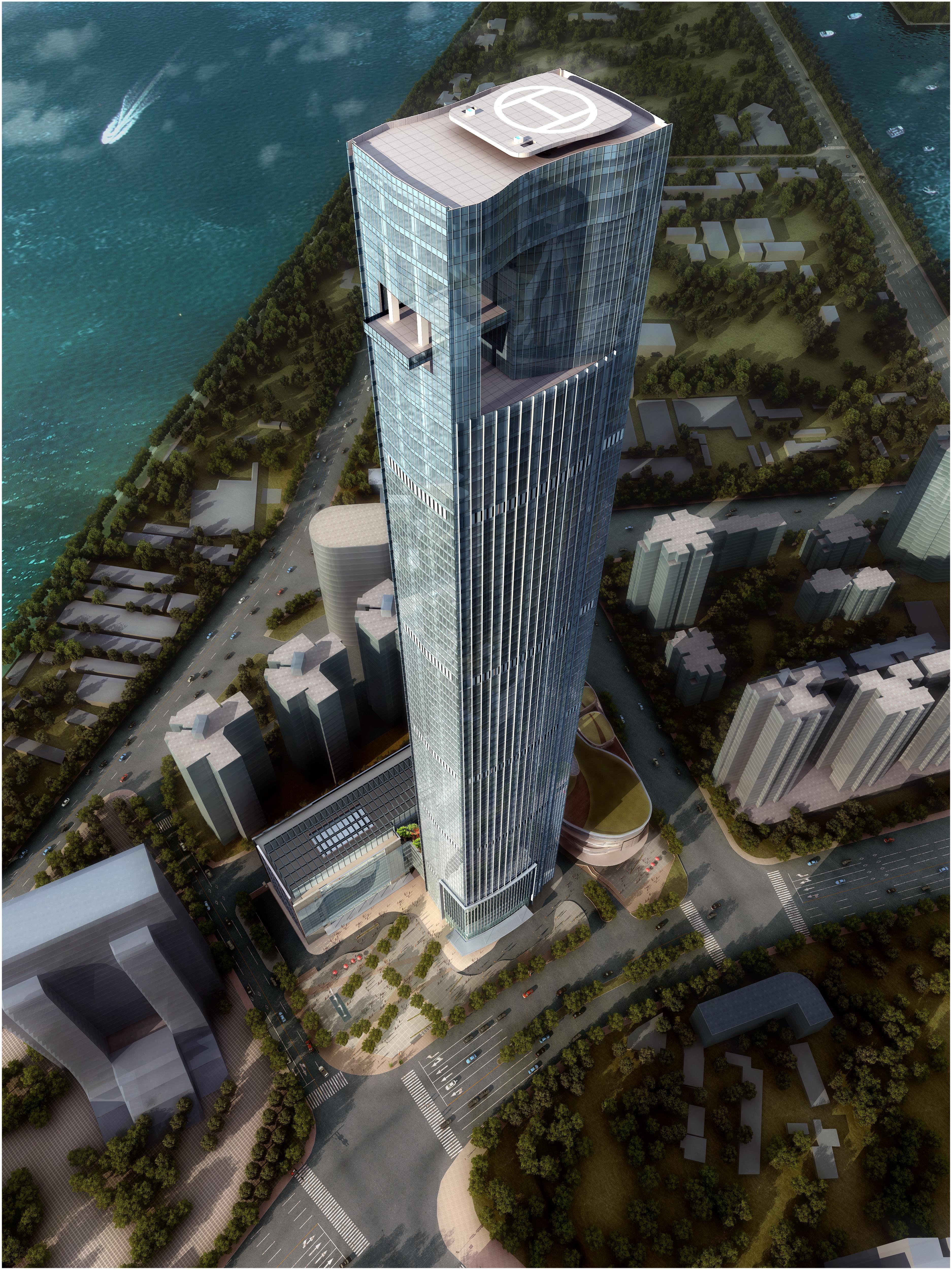 skyscraper office building 007 3d model max 206281