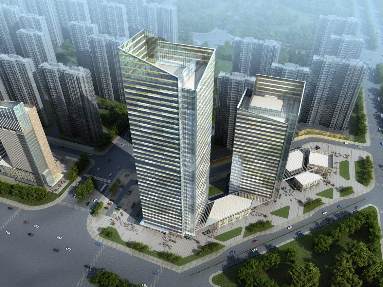 skyscraper office building 010 3d model max 206292